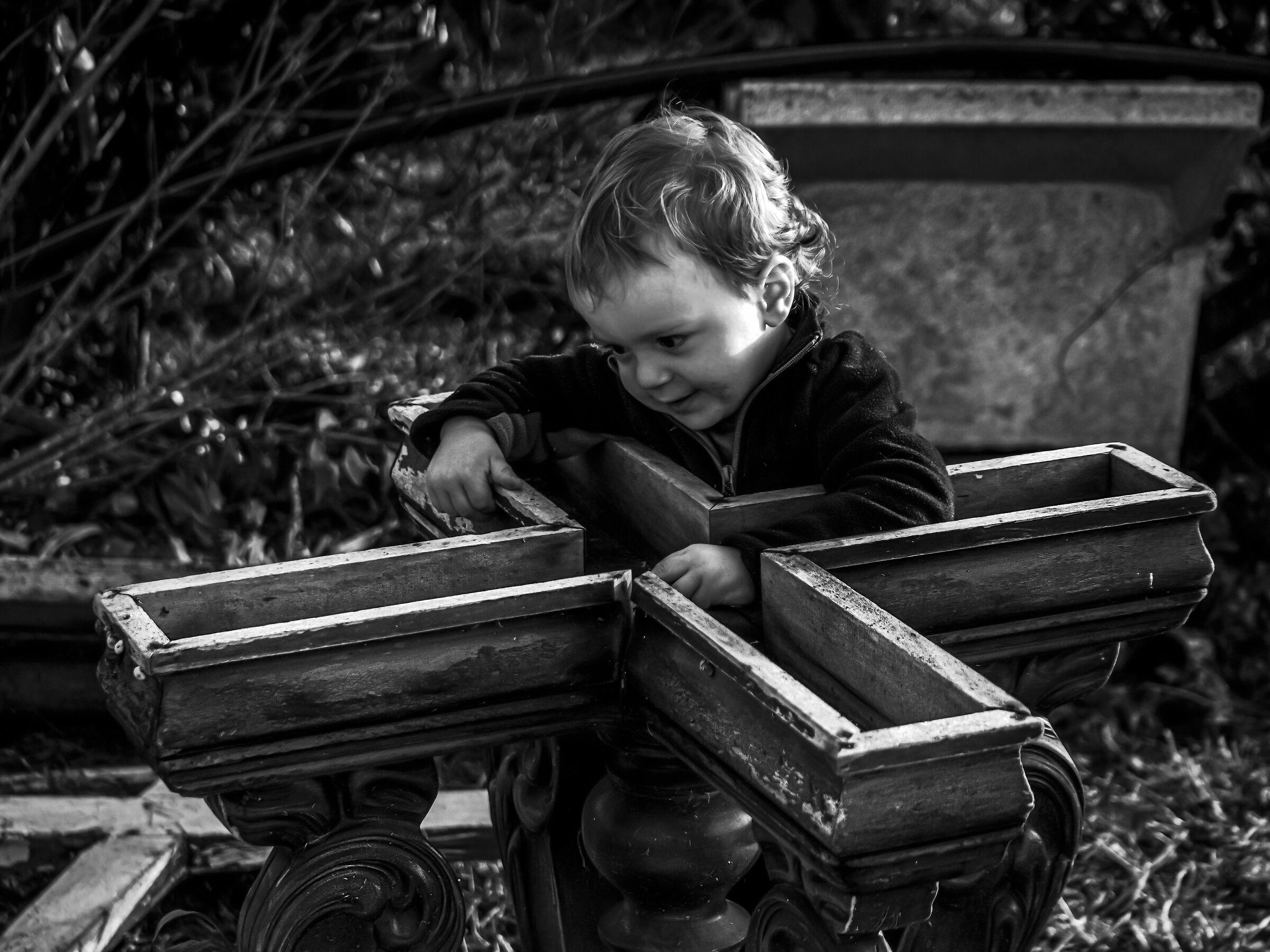 """Il piccolo """"Falegname""""..."""
