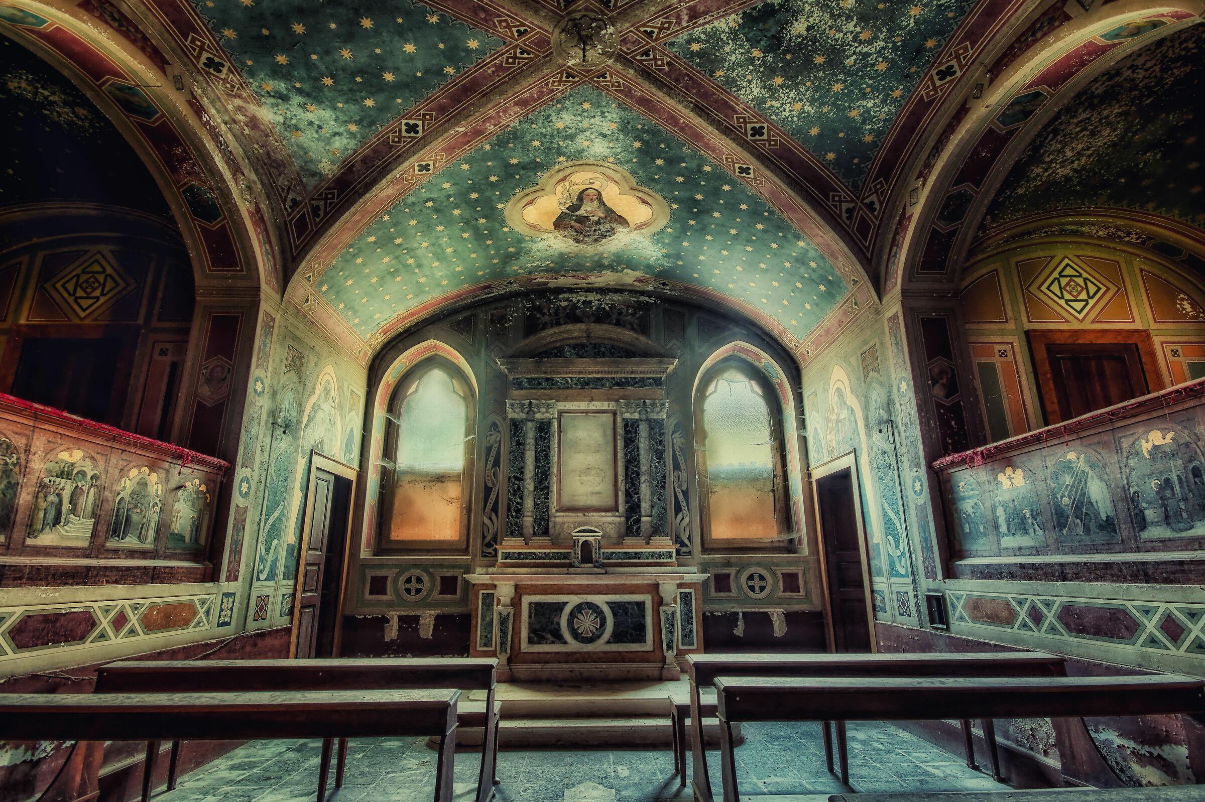 The Duchess's Abandoned Church...