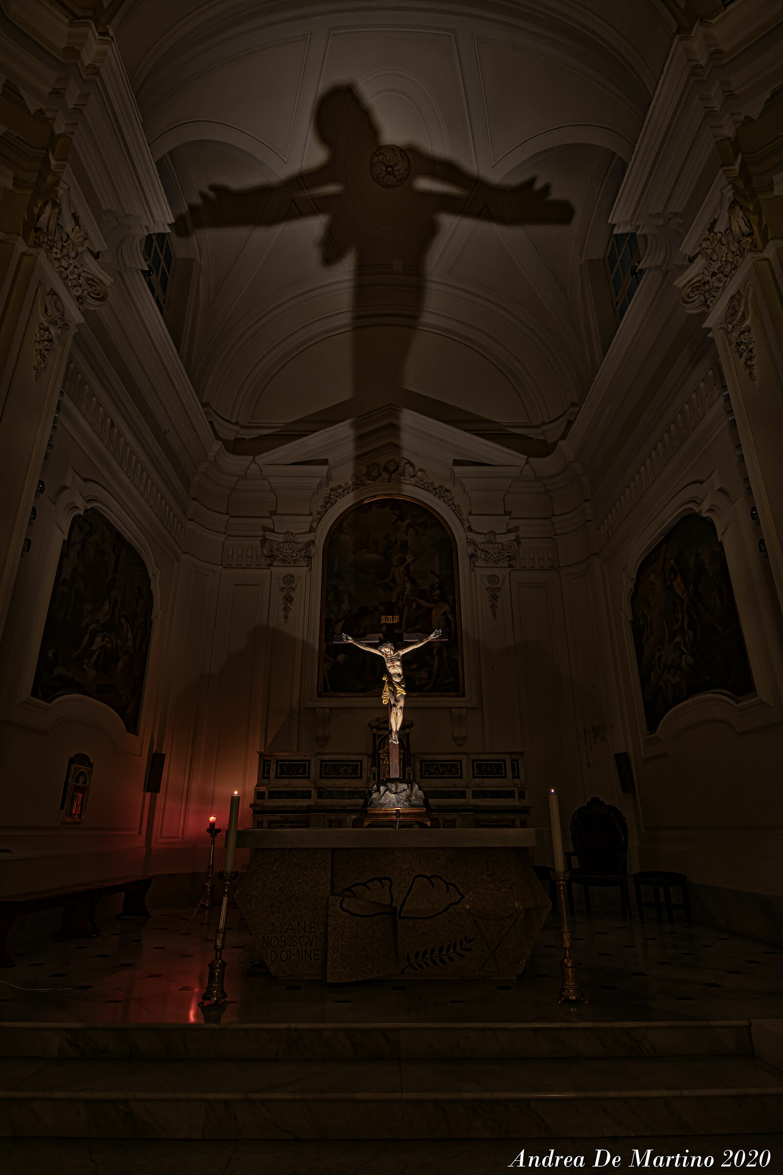 The Lonely Crucifix...
