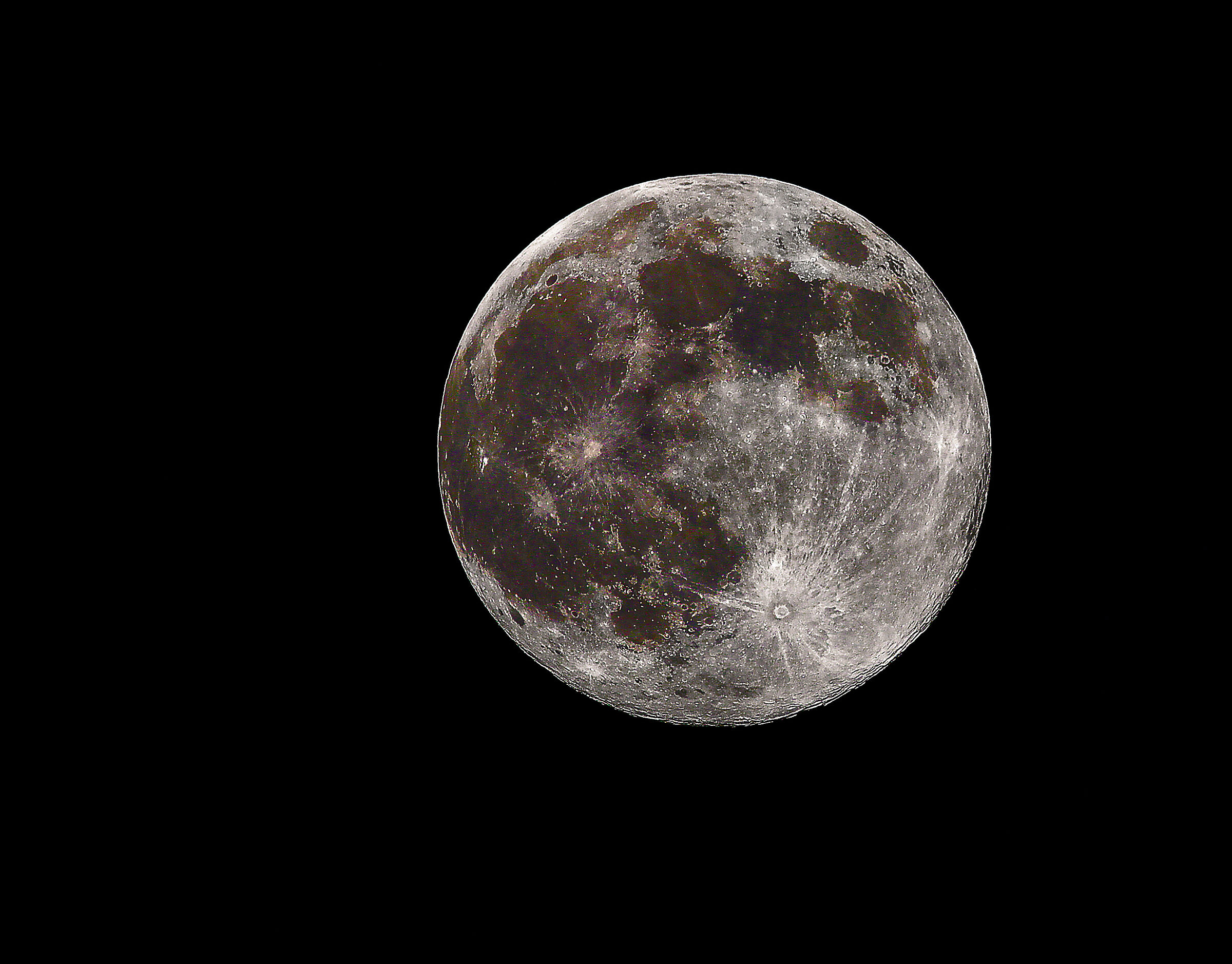 full moon 7 April 2020...