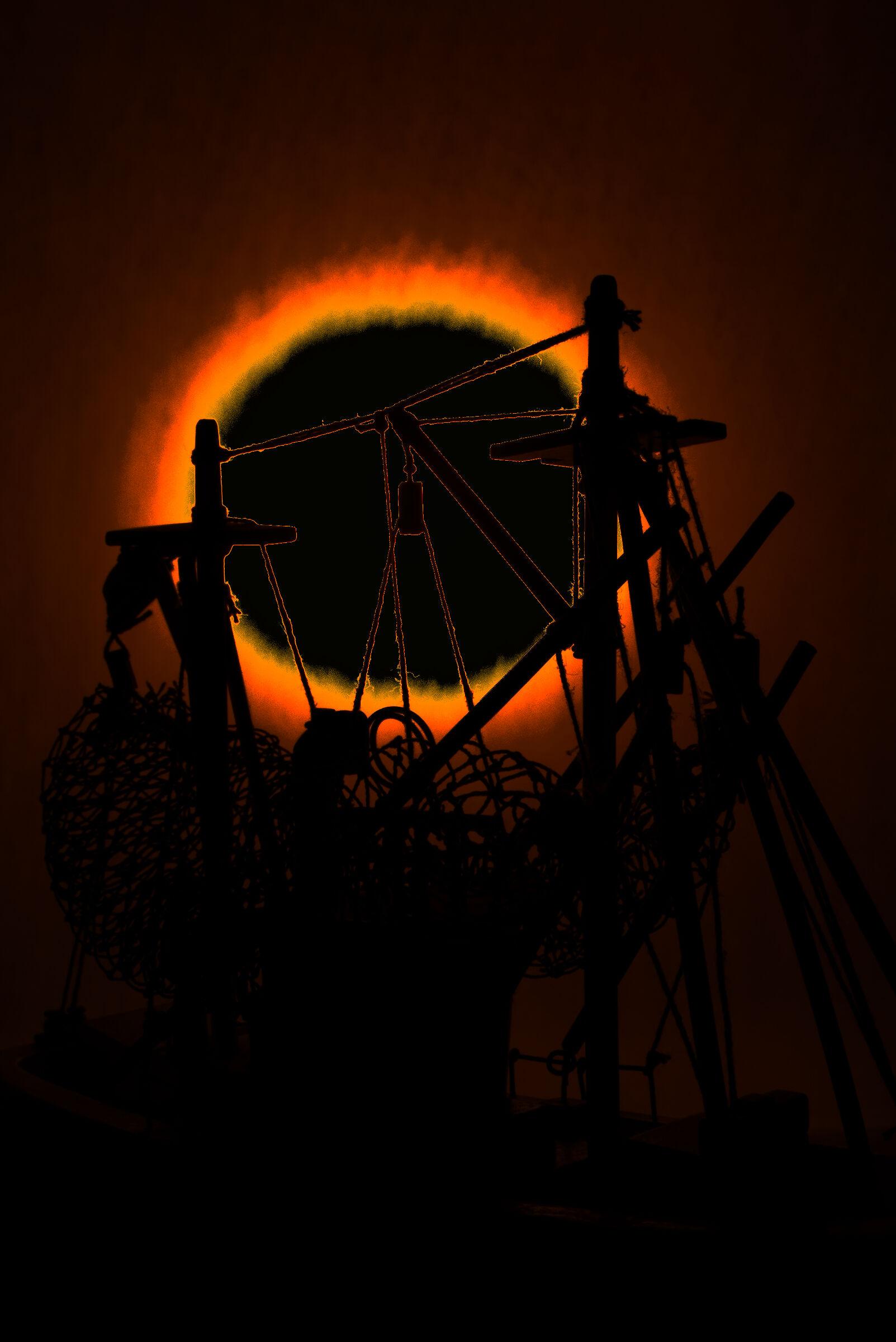 L'eclissi totale...
