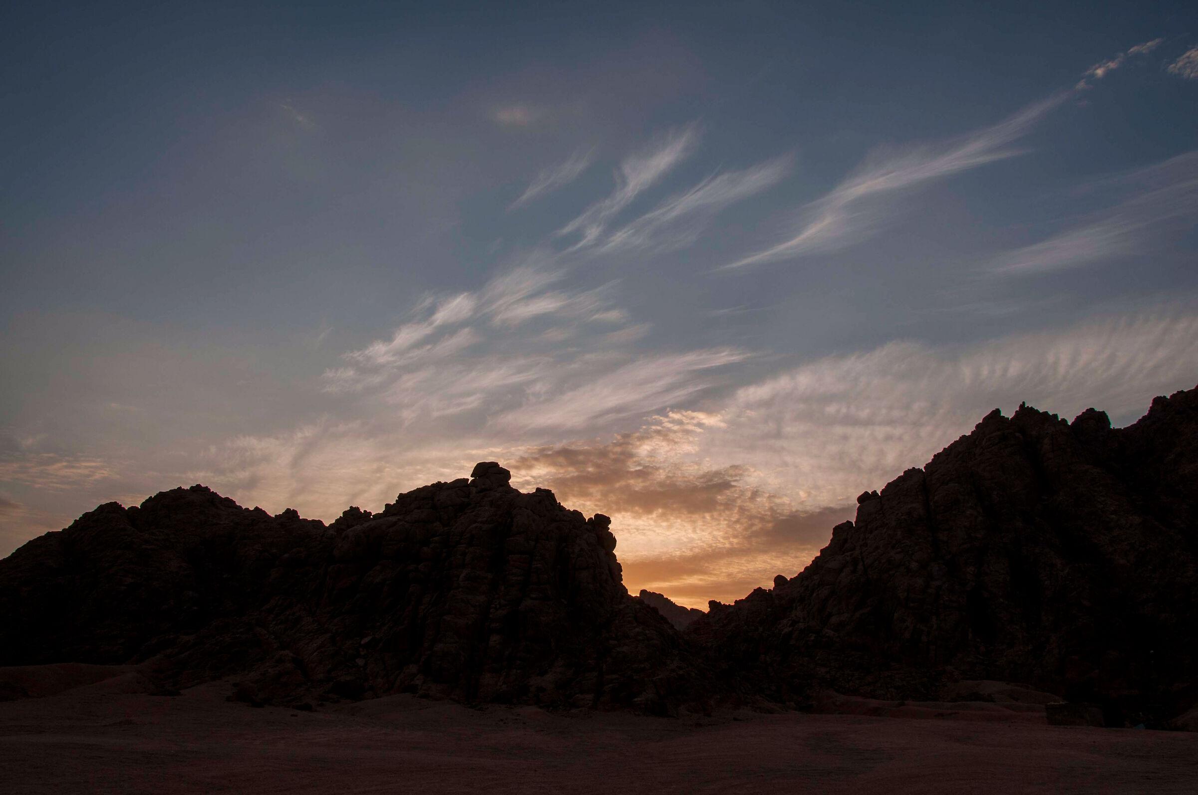 Sunset in Sinai...