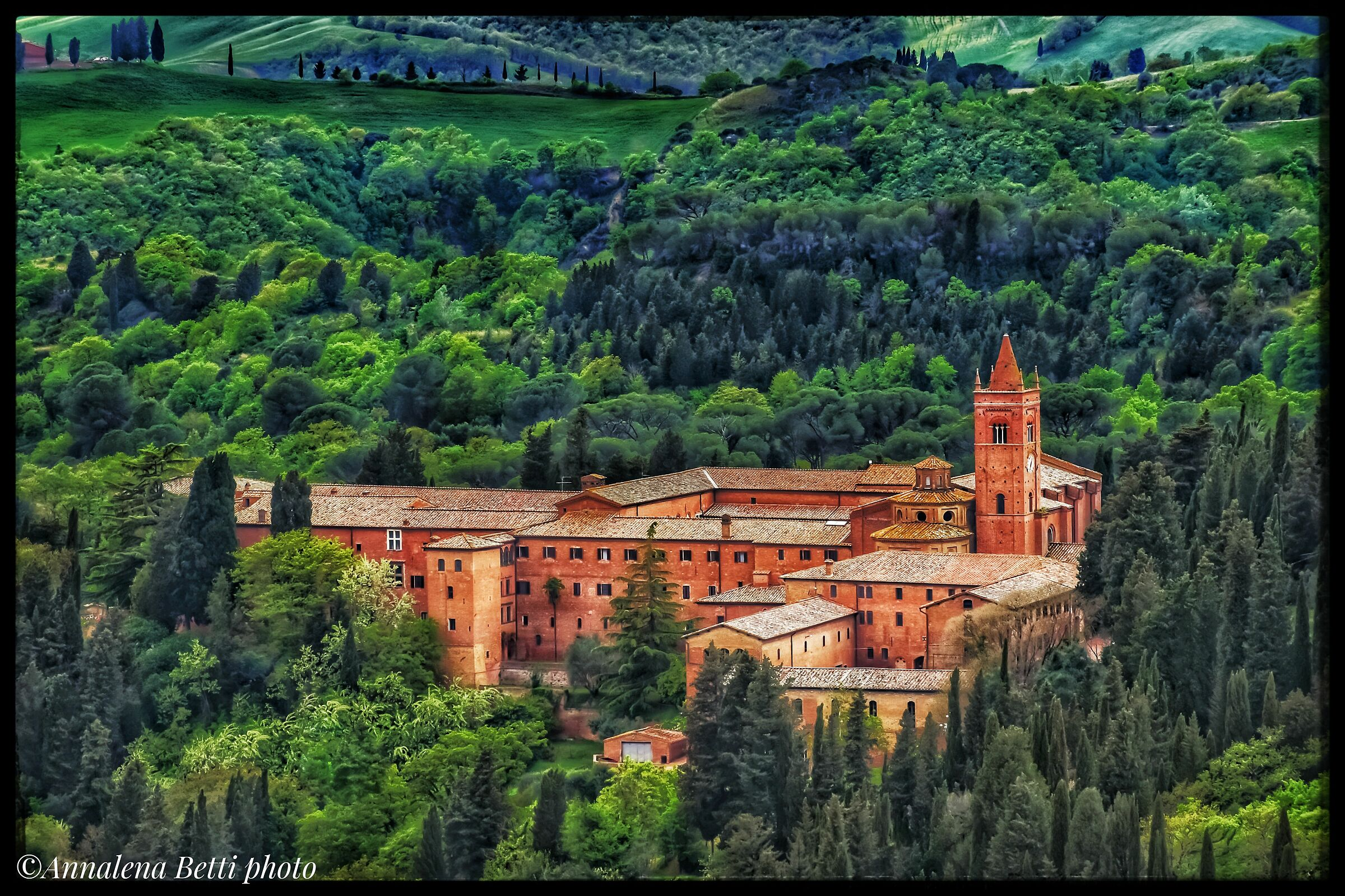 Abbey of Mount Oliveto Maggiore...