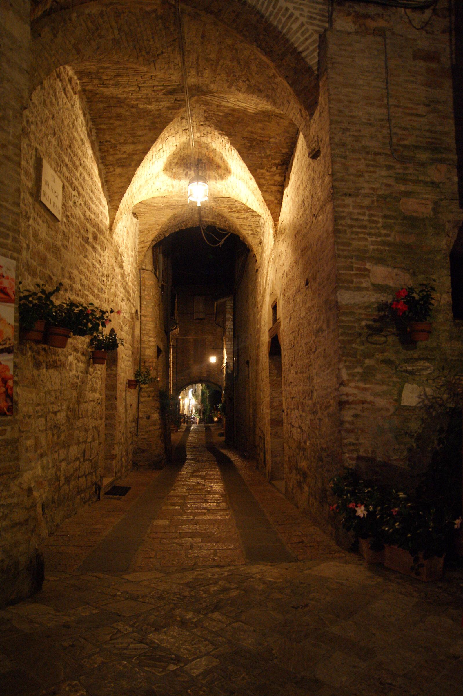 Assisi di notte...