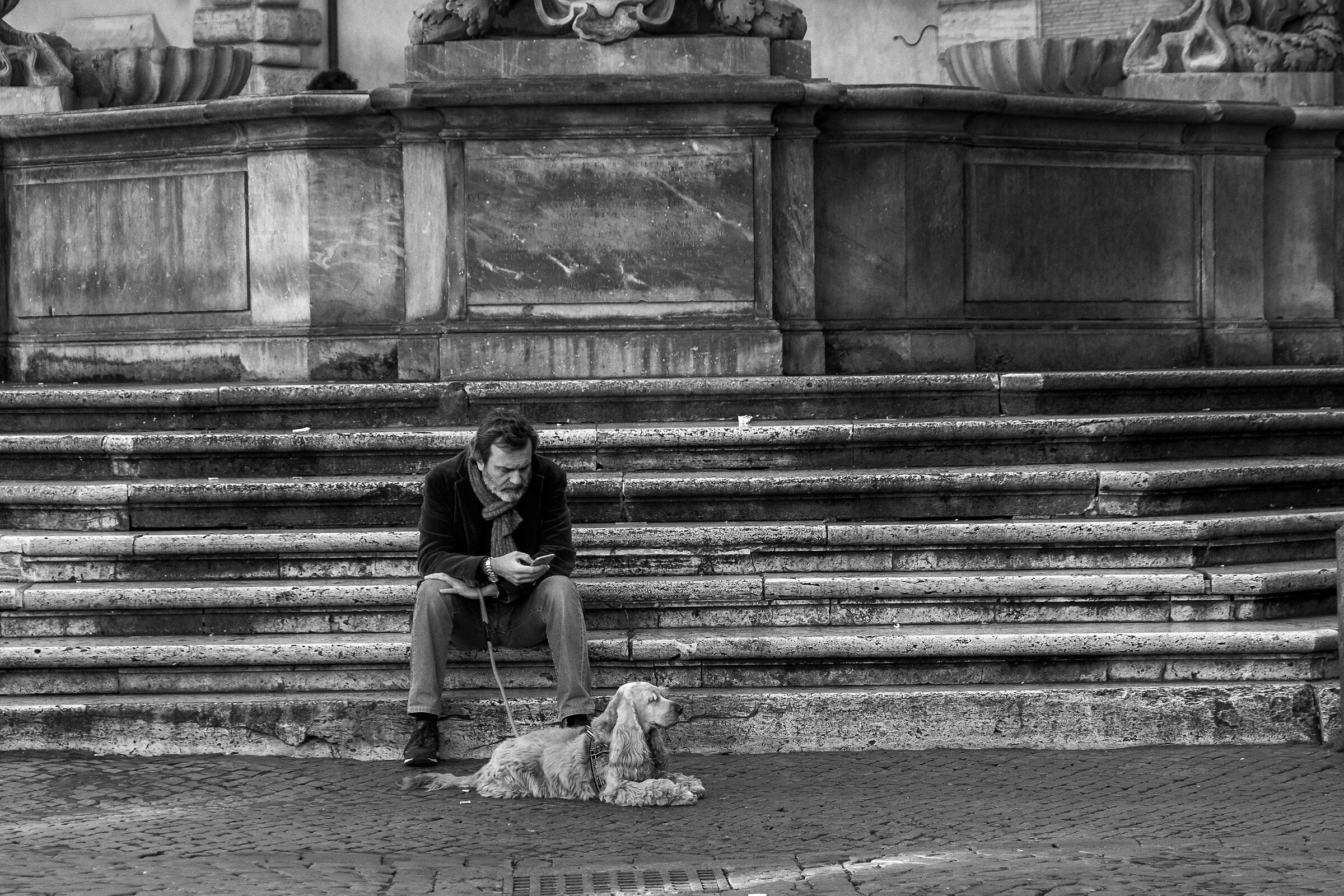 Around Rome: Piazza Santa Maria in Trastevere...