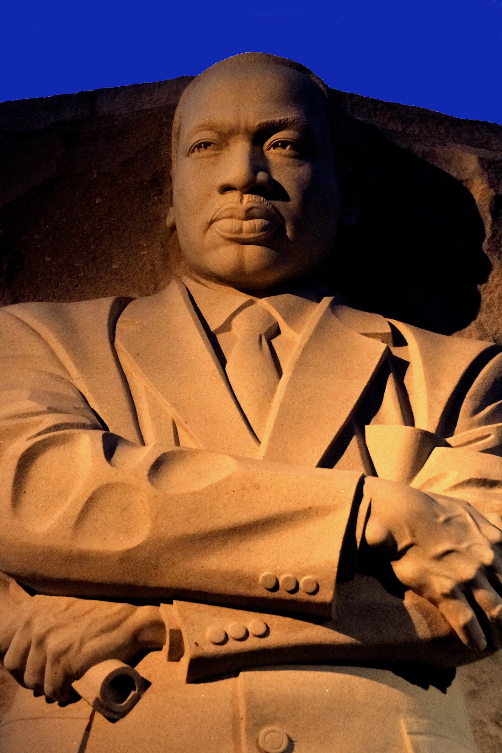 Martin Luther King Monument...