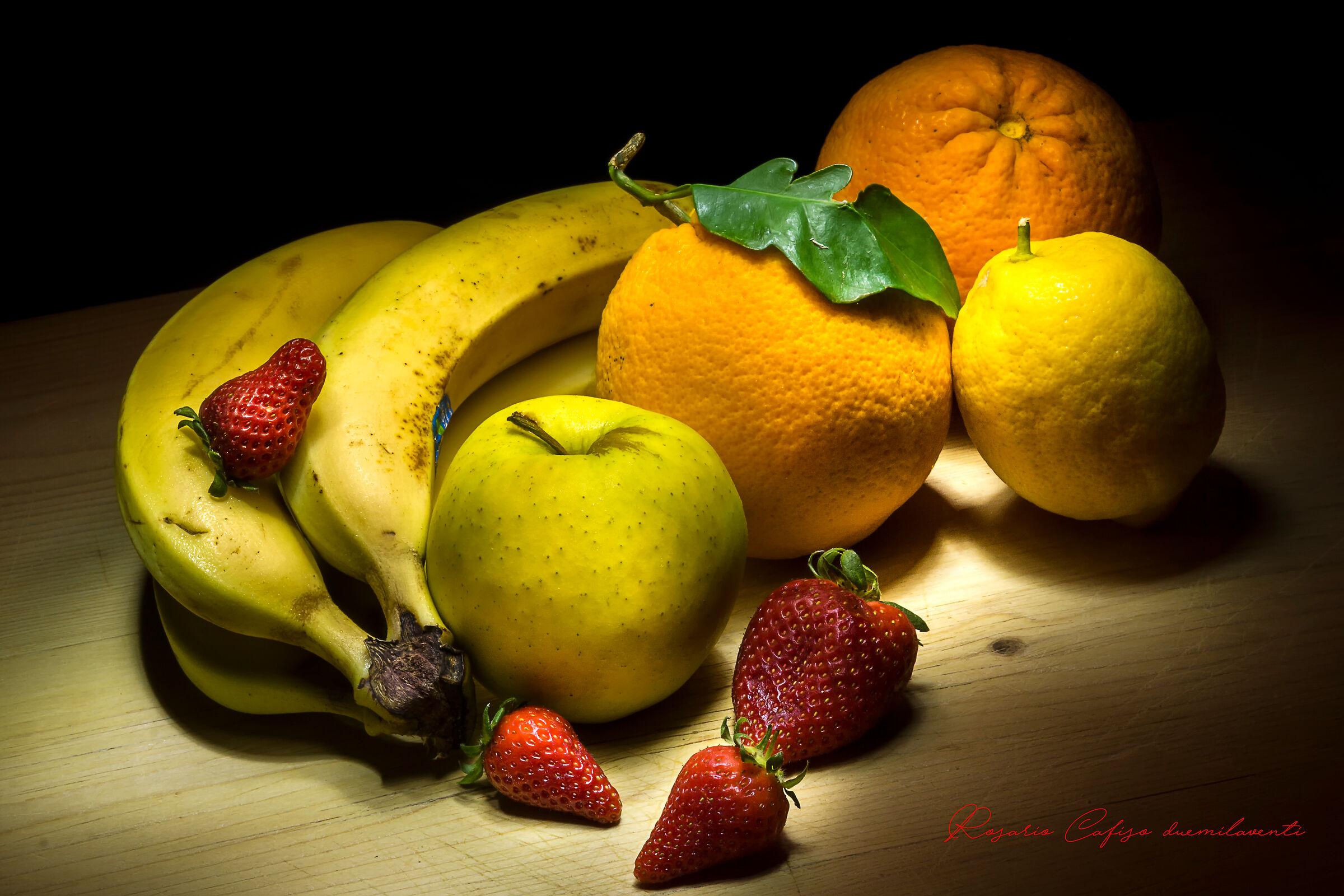 Siamo alla frutta...in tutti i sensi...