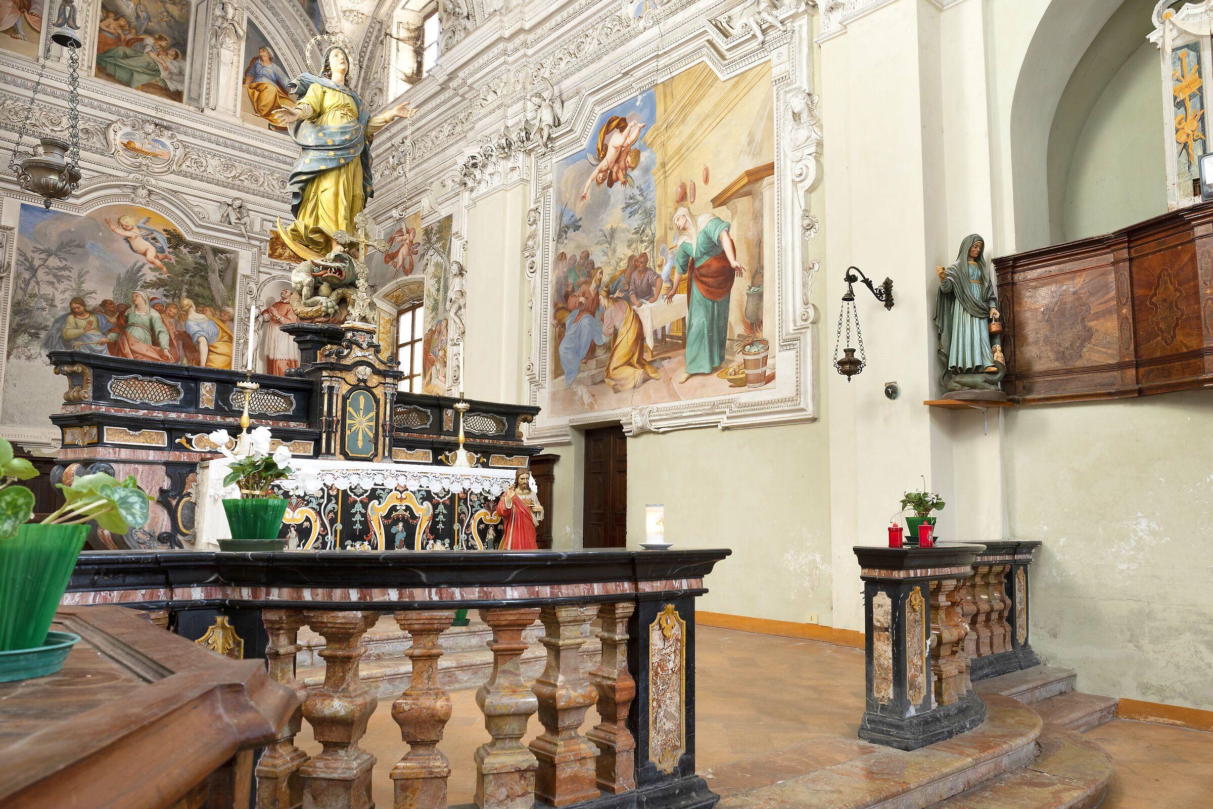 Church of Saint Martha 17th century - Porlezza (CO)...