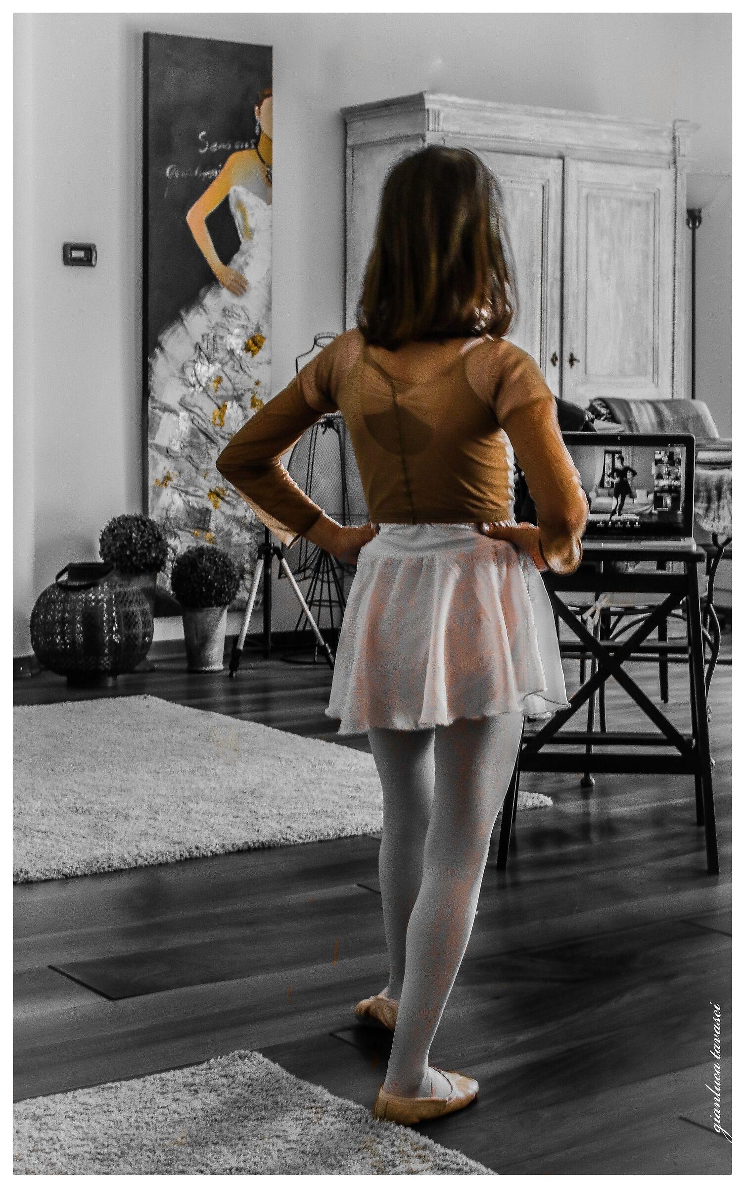 Lezione di danza...