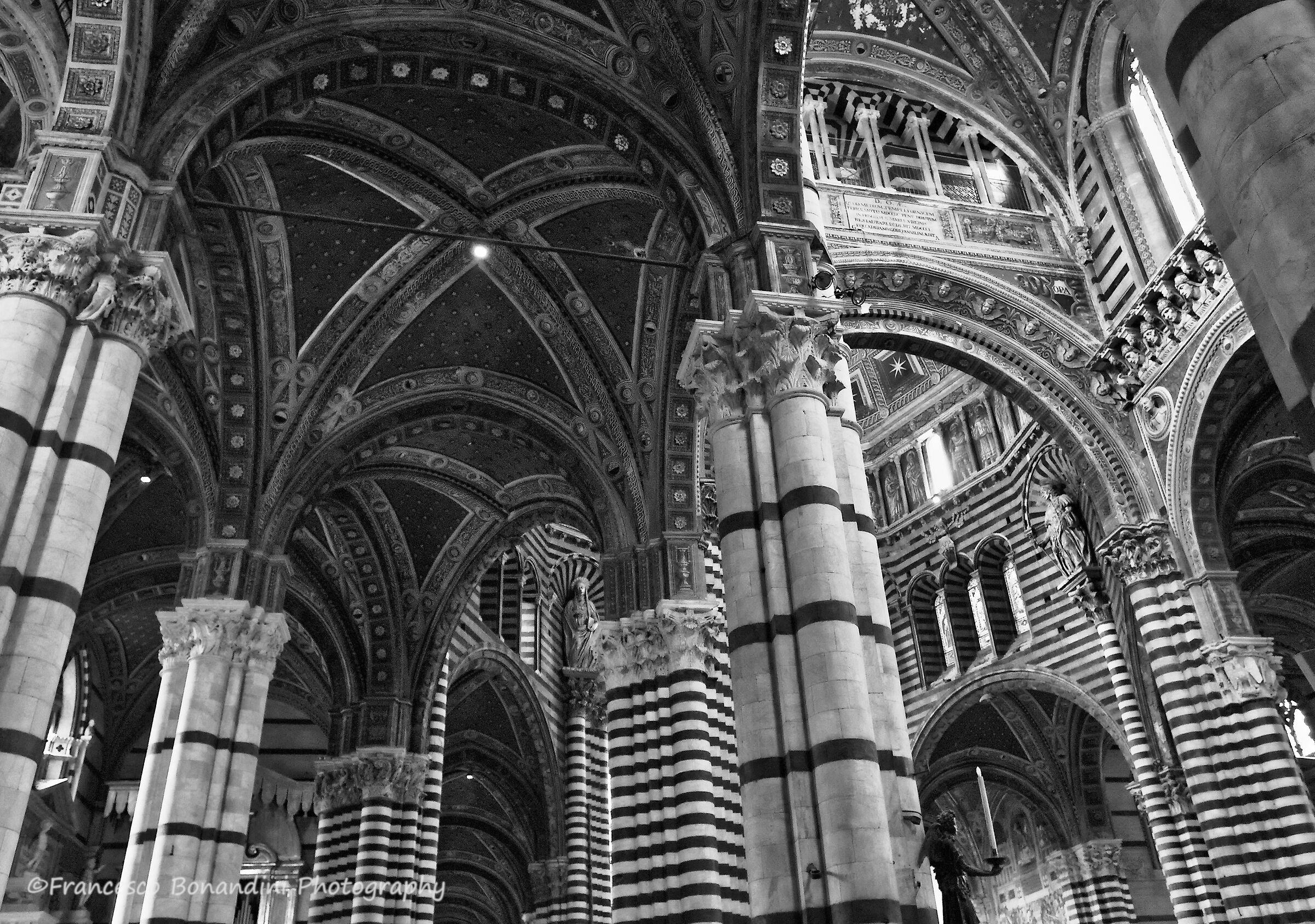 Interior Cathedral of Siena...