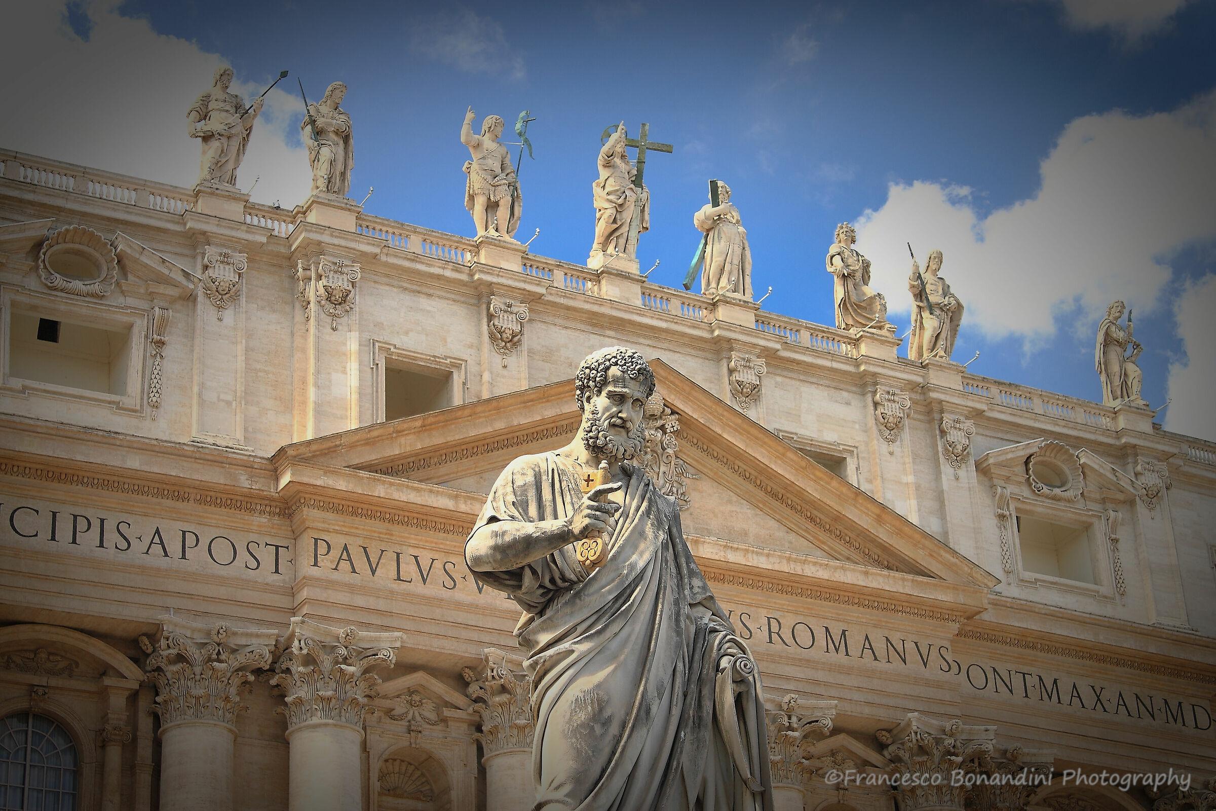 In the Vatican...