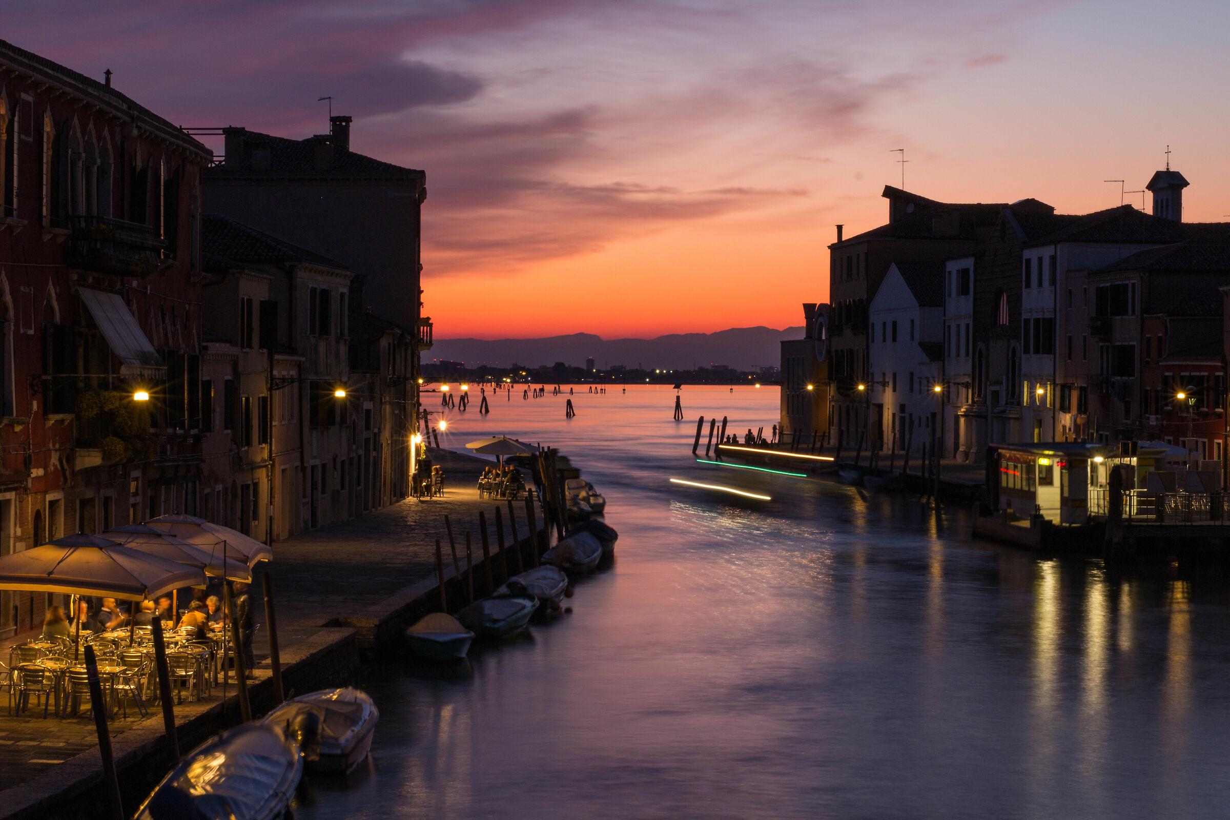Sunset at the Bridge of Three Arches...