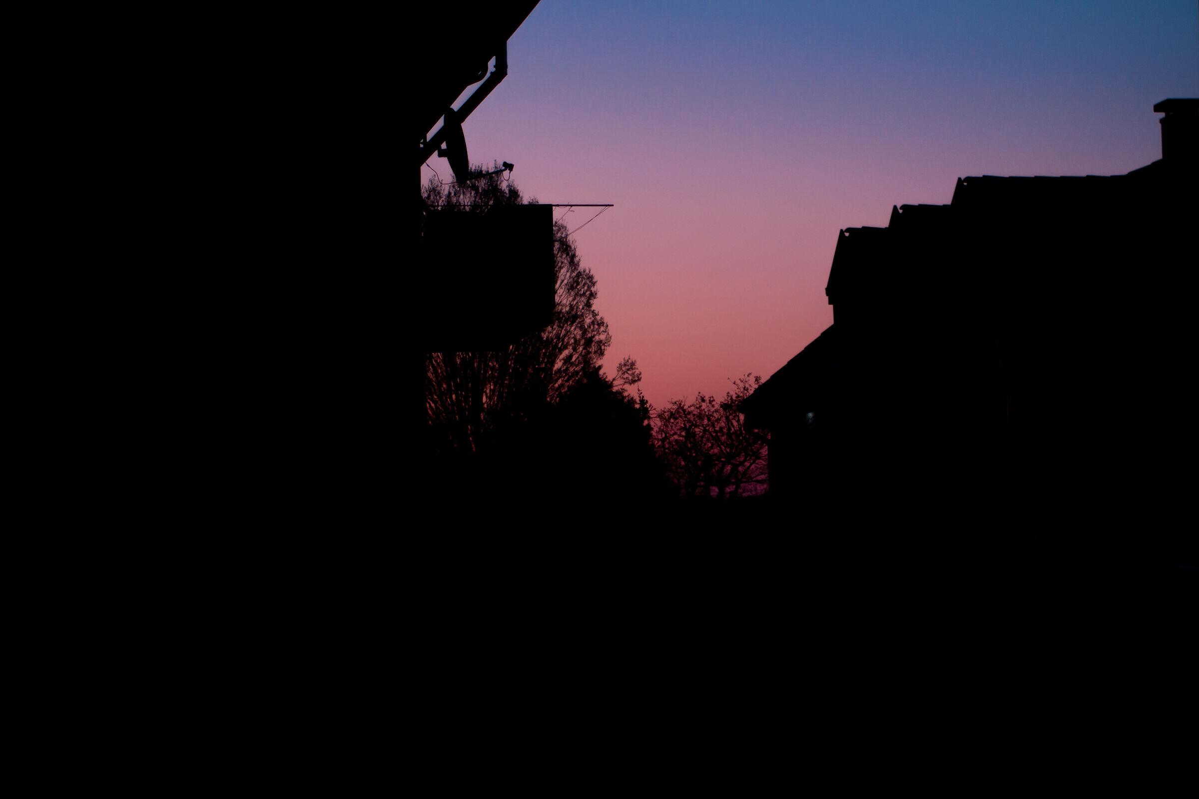 Sunrise during captivity...