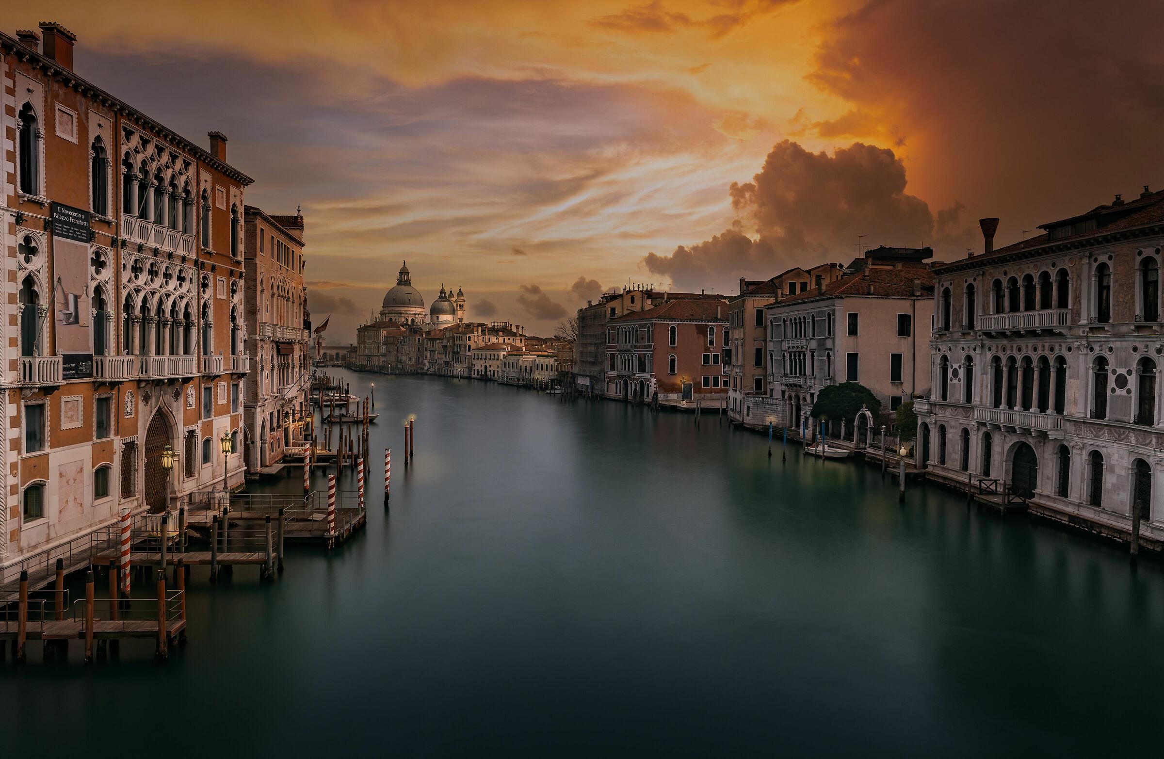 Venetian sunset...
