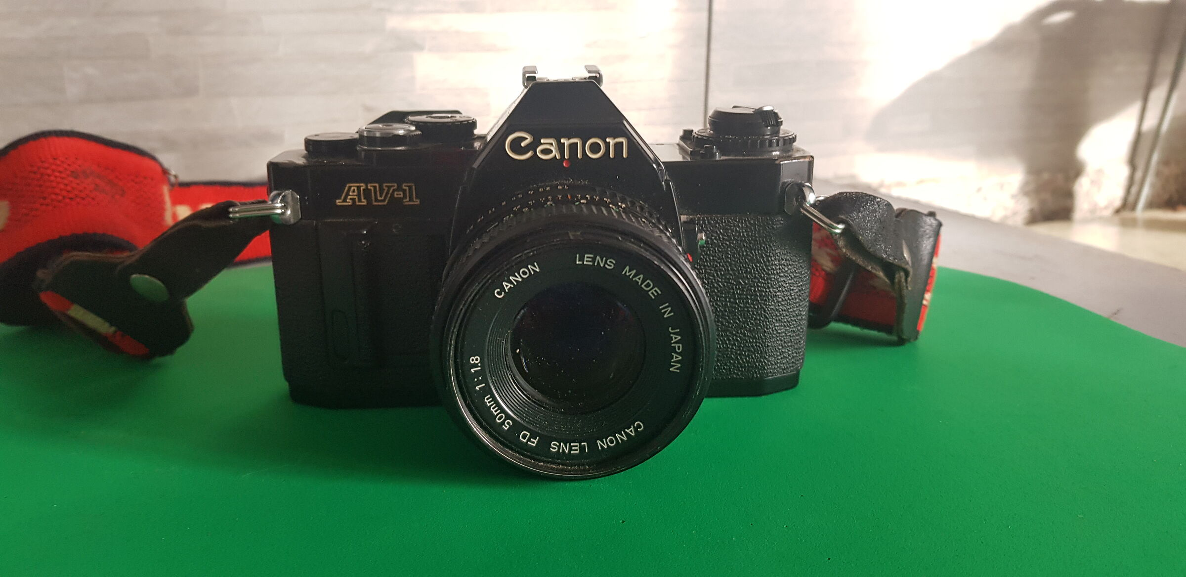 My first Canon ...