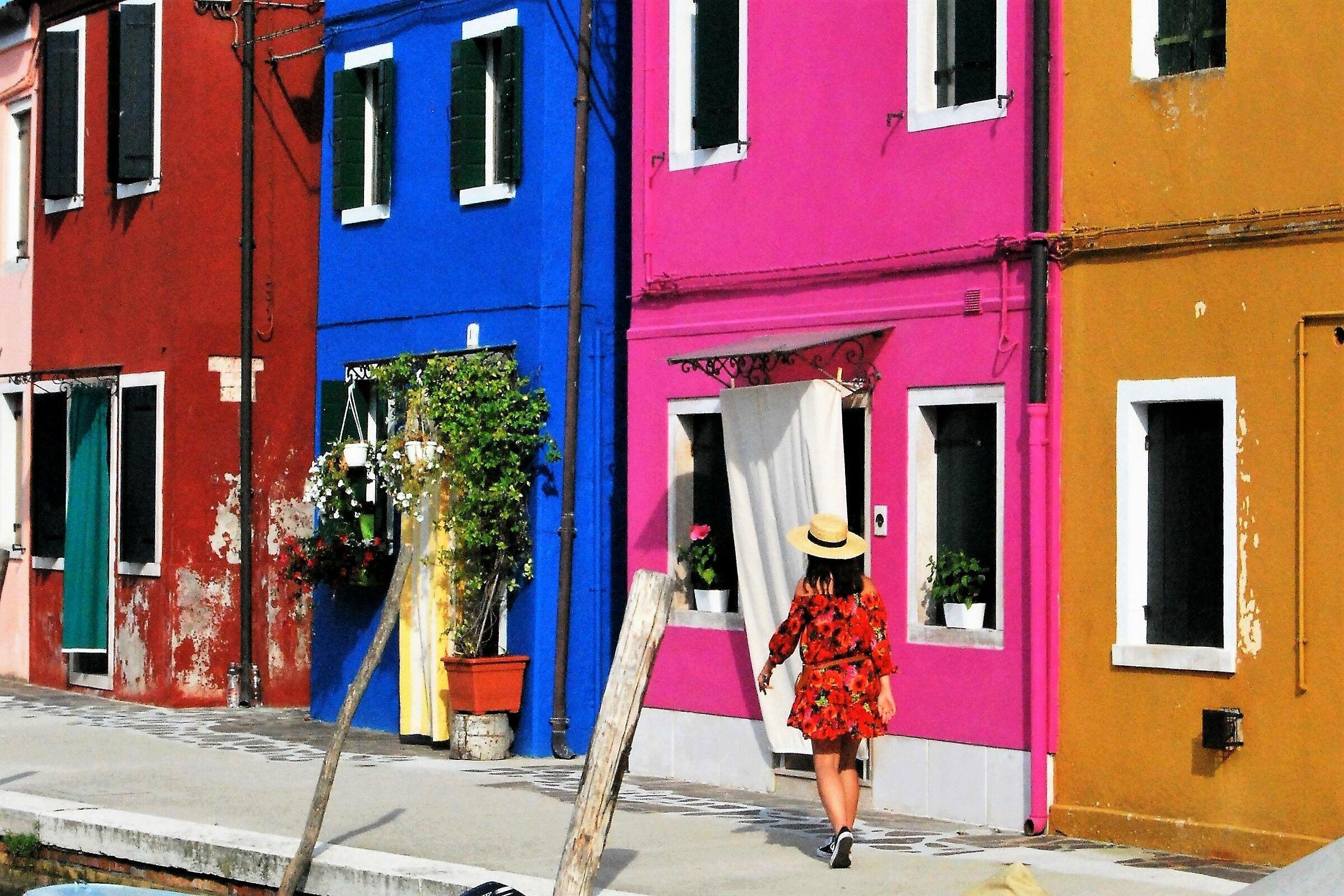 I colori di Burano...