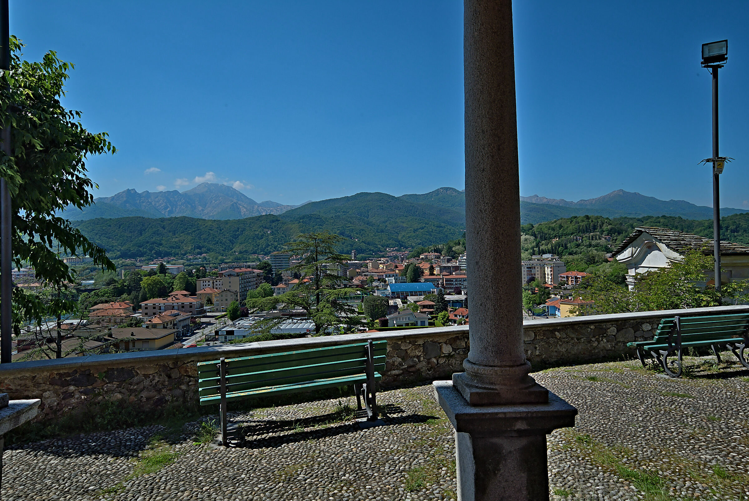 View from the Old Castle....