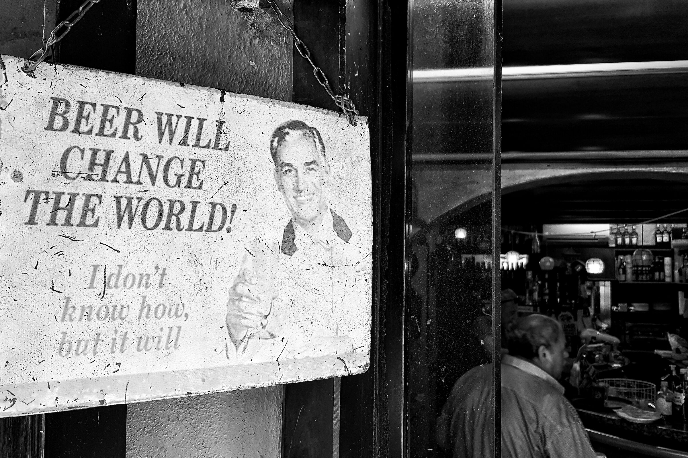 Beer will change the world!...