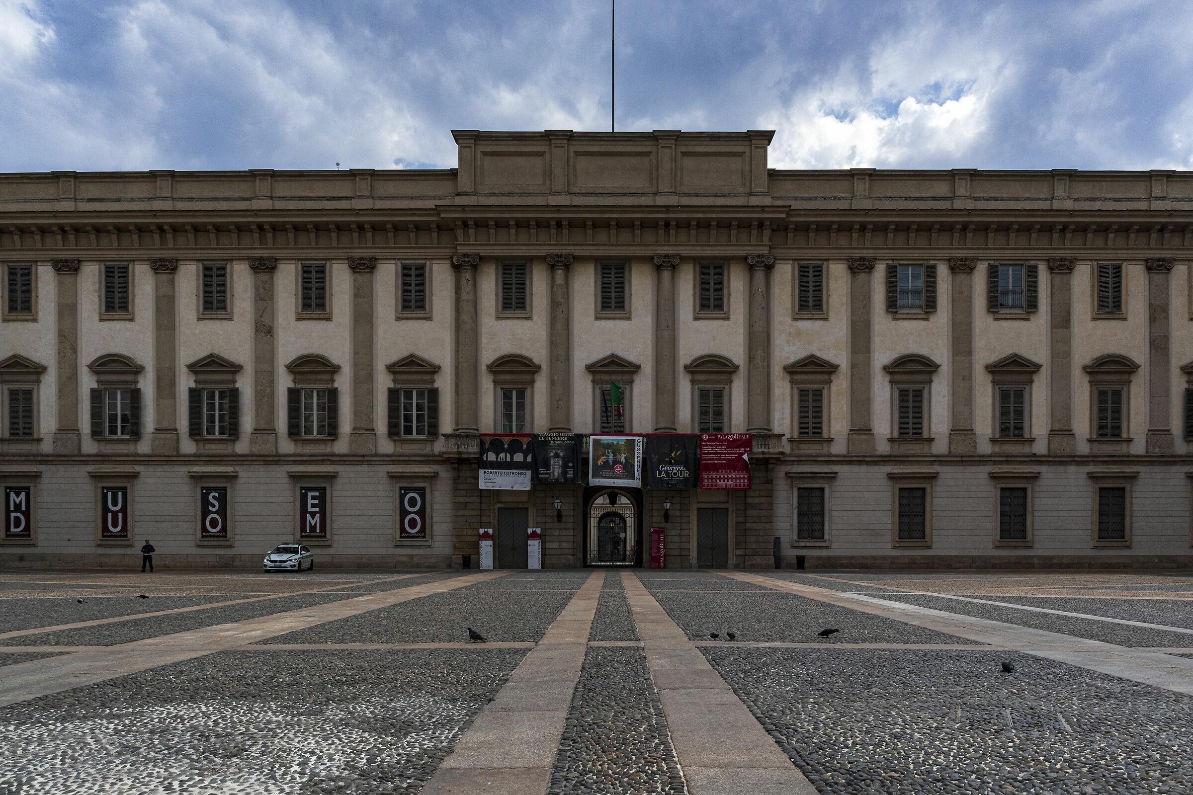 Milano ai tempi del Coronavirus...