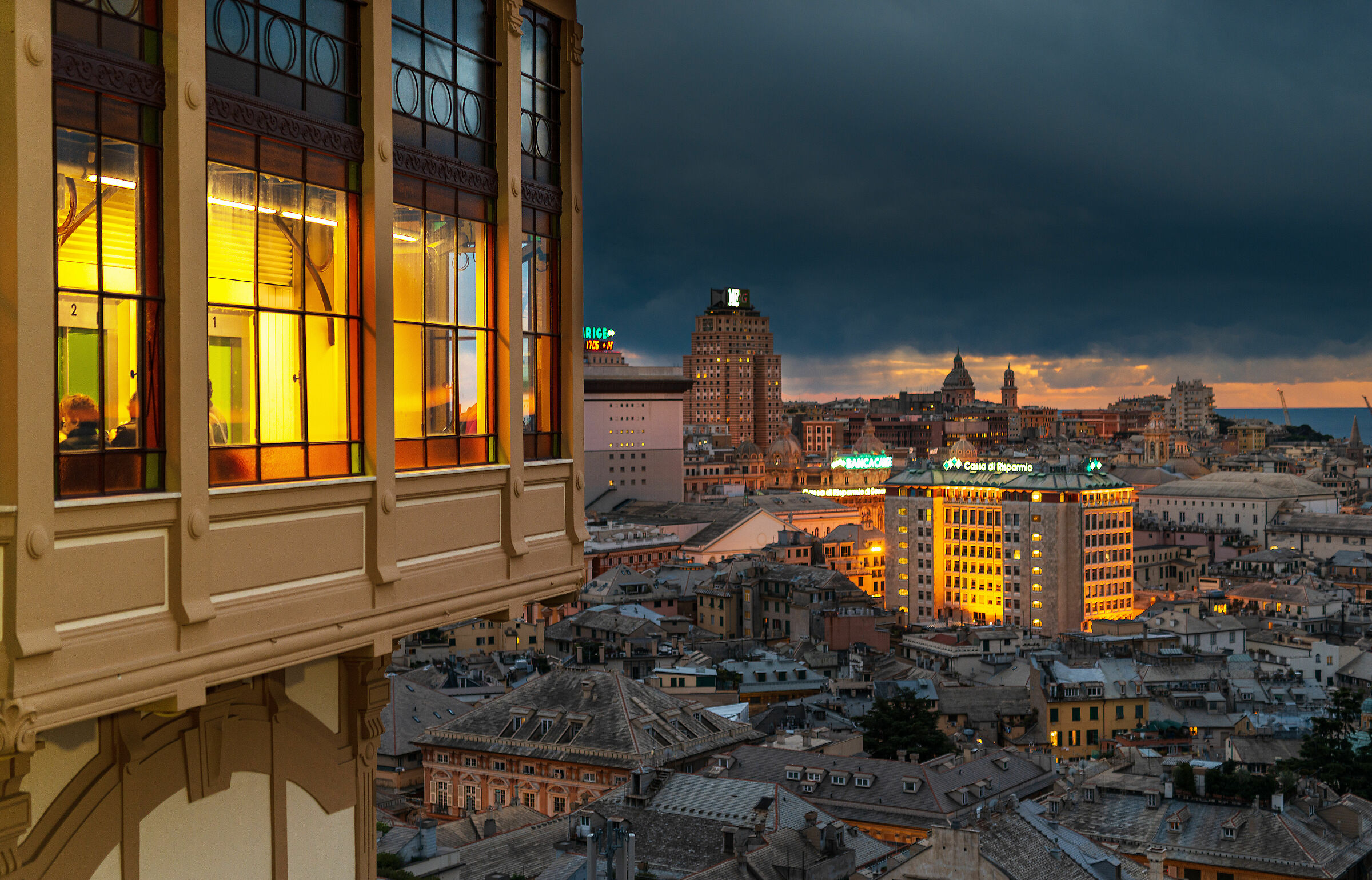 L'ascensore di Castelletto...