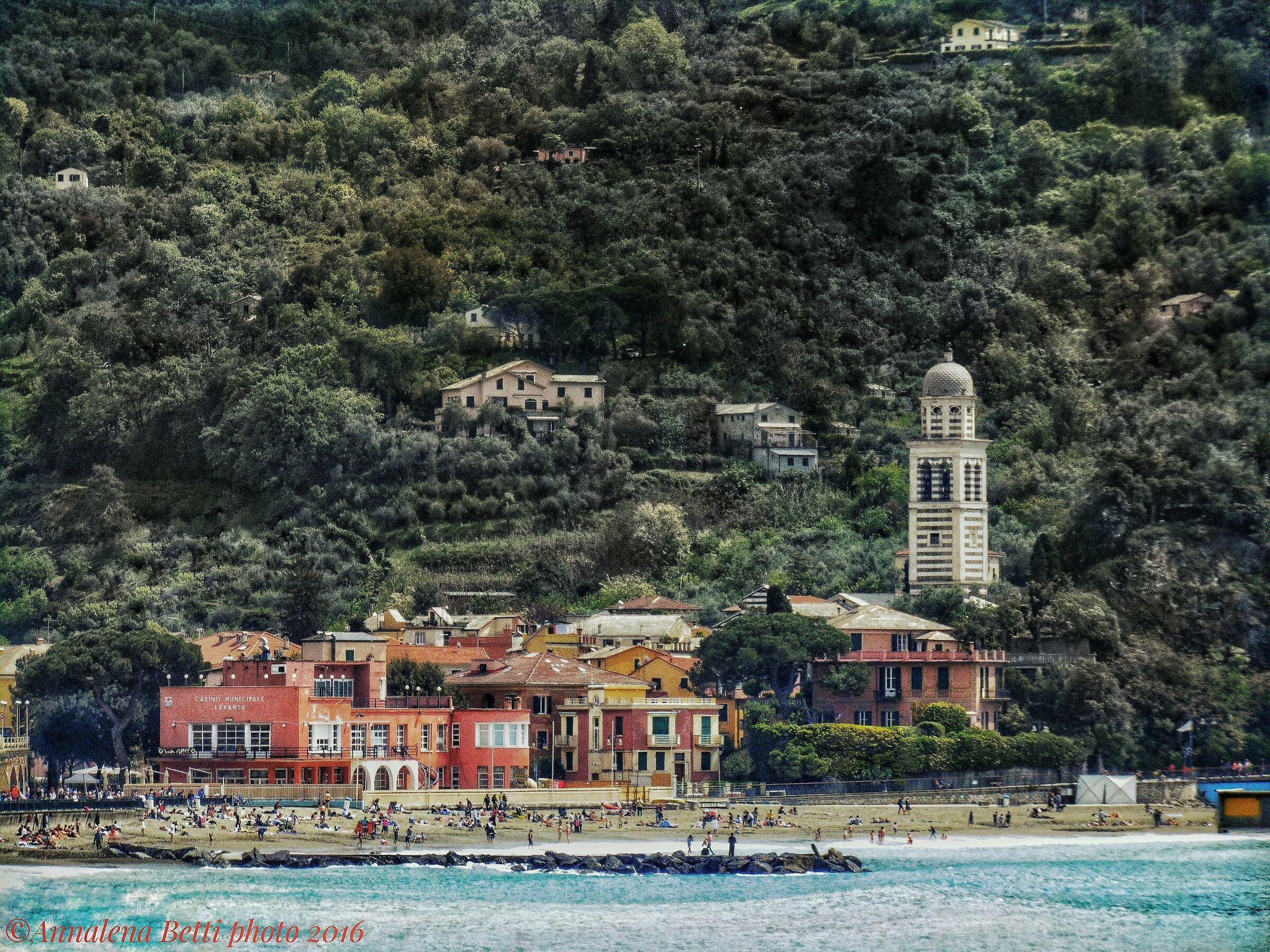 Levanto Liguria Beach...