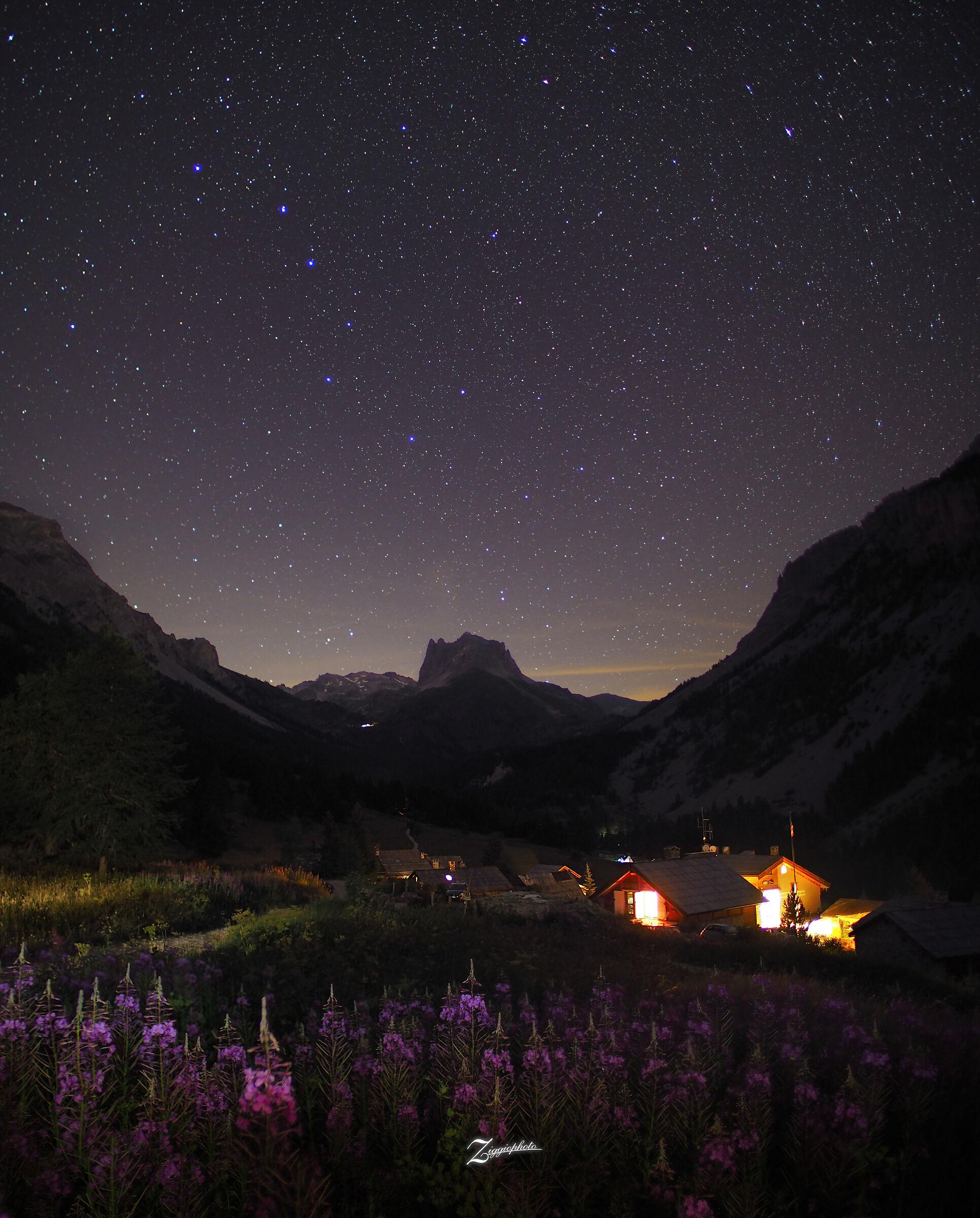 Magie notturne in Valle Stretta...