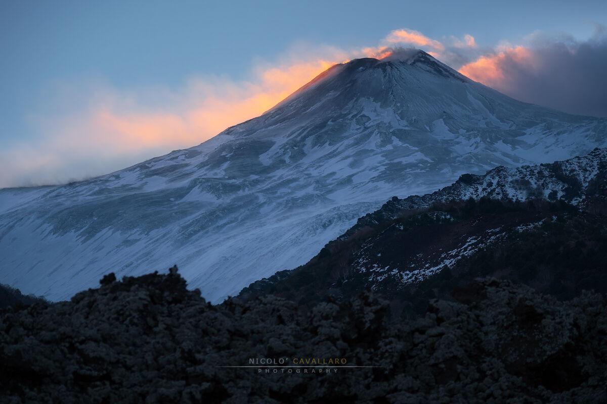 Etna - Last light...