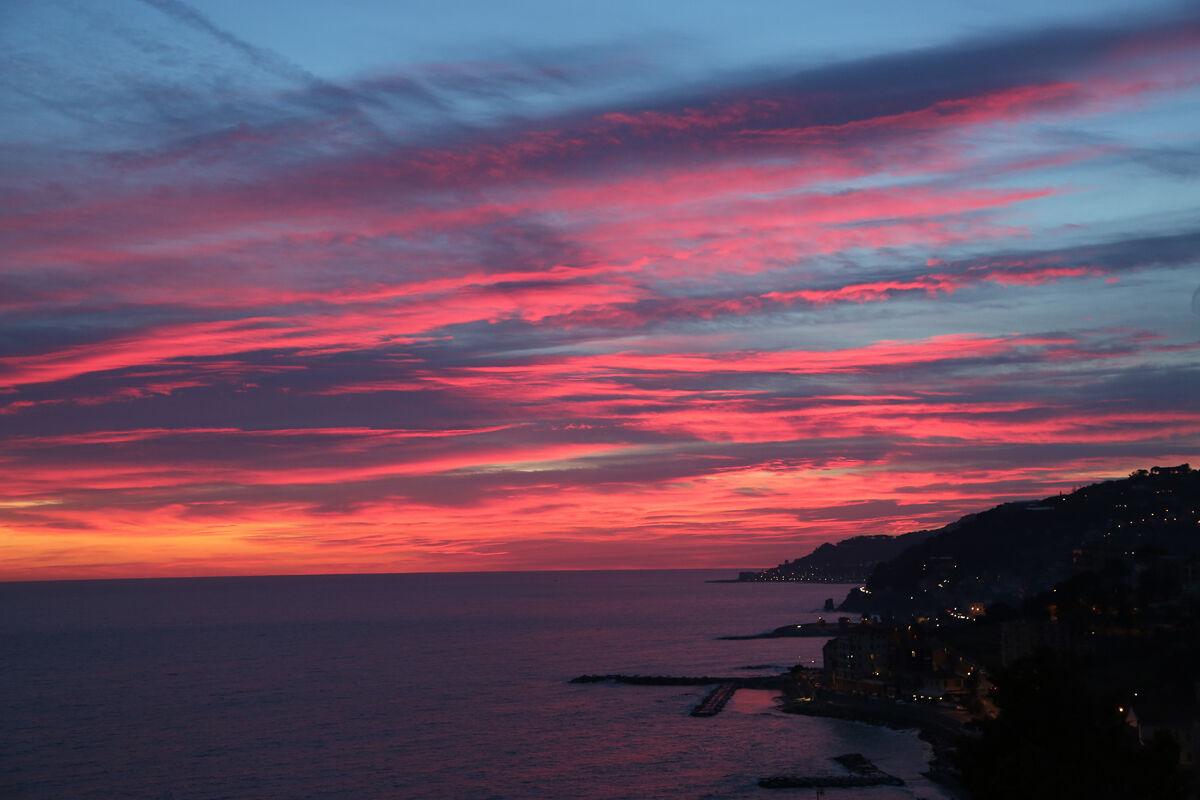 Imperia- sunset...