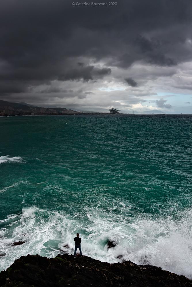 Emerald sea...