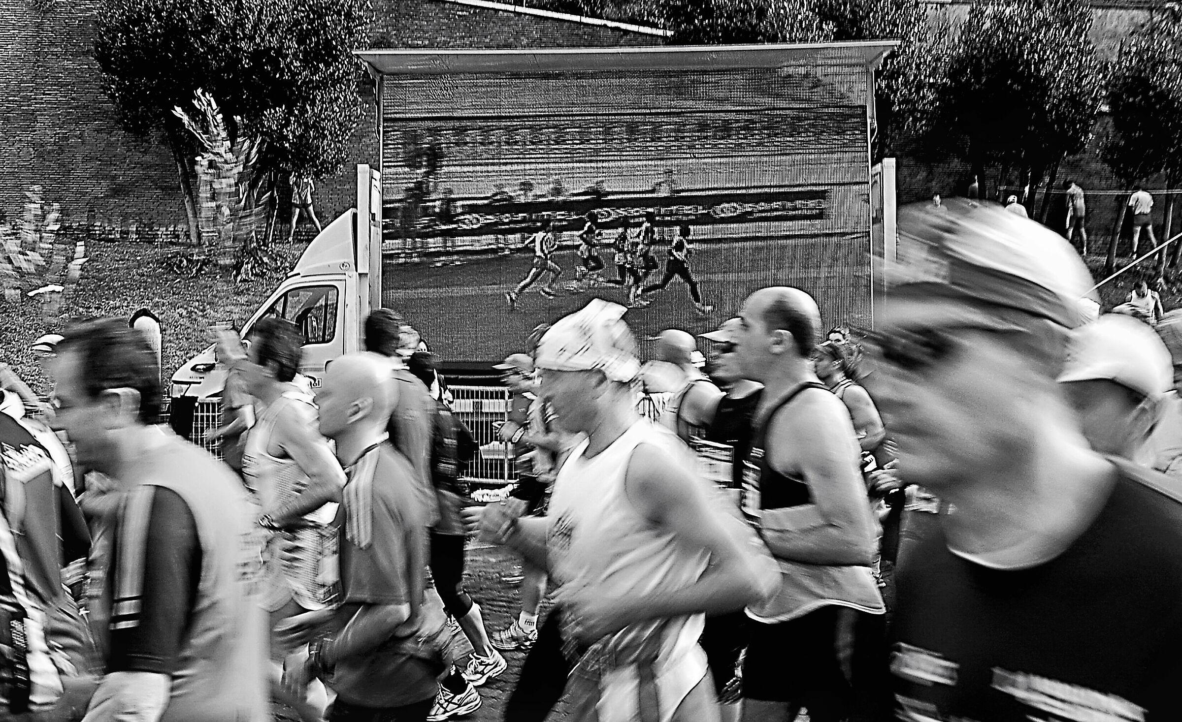 Rome Marathon...