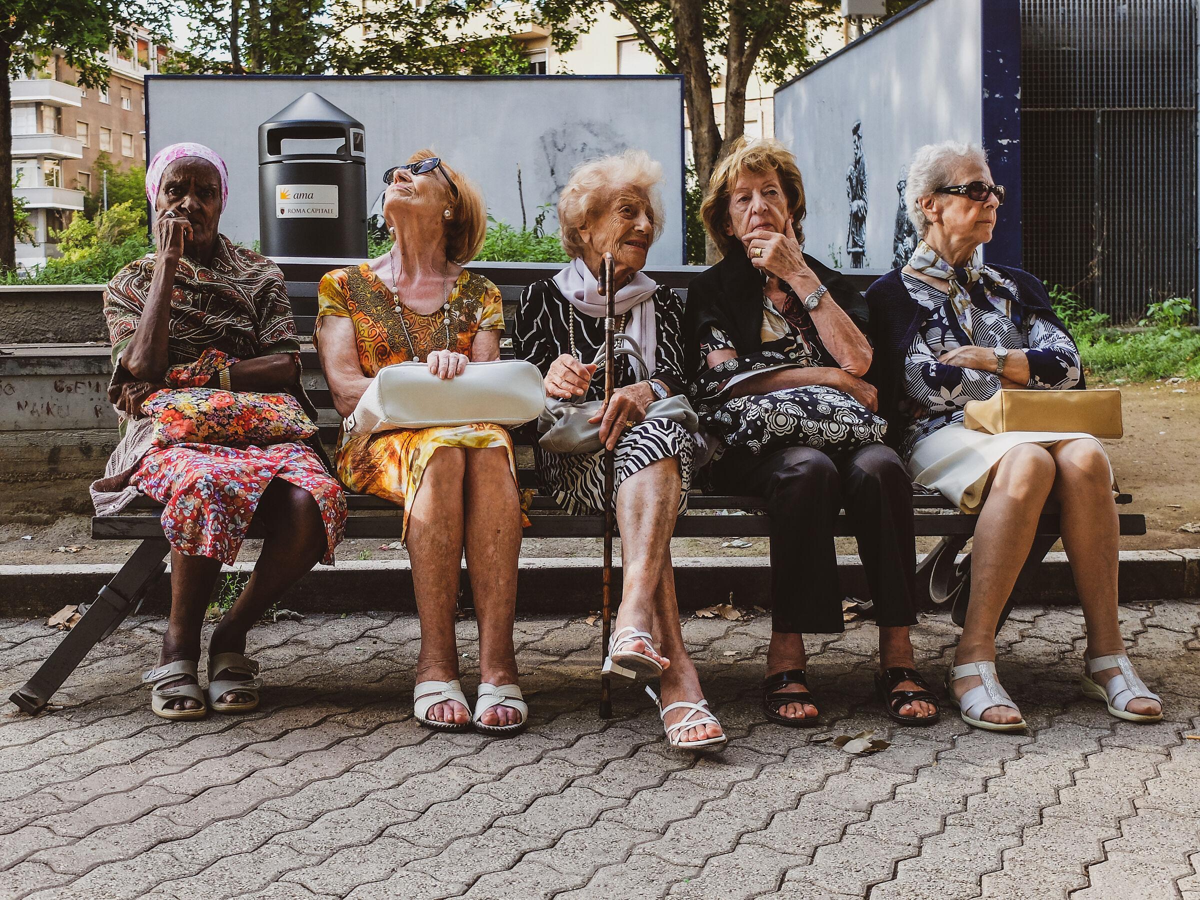 Le ragazze di piazza Bologna...