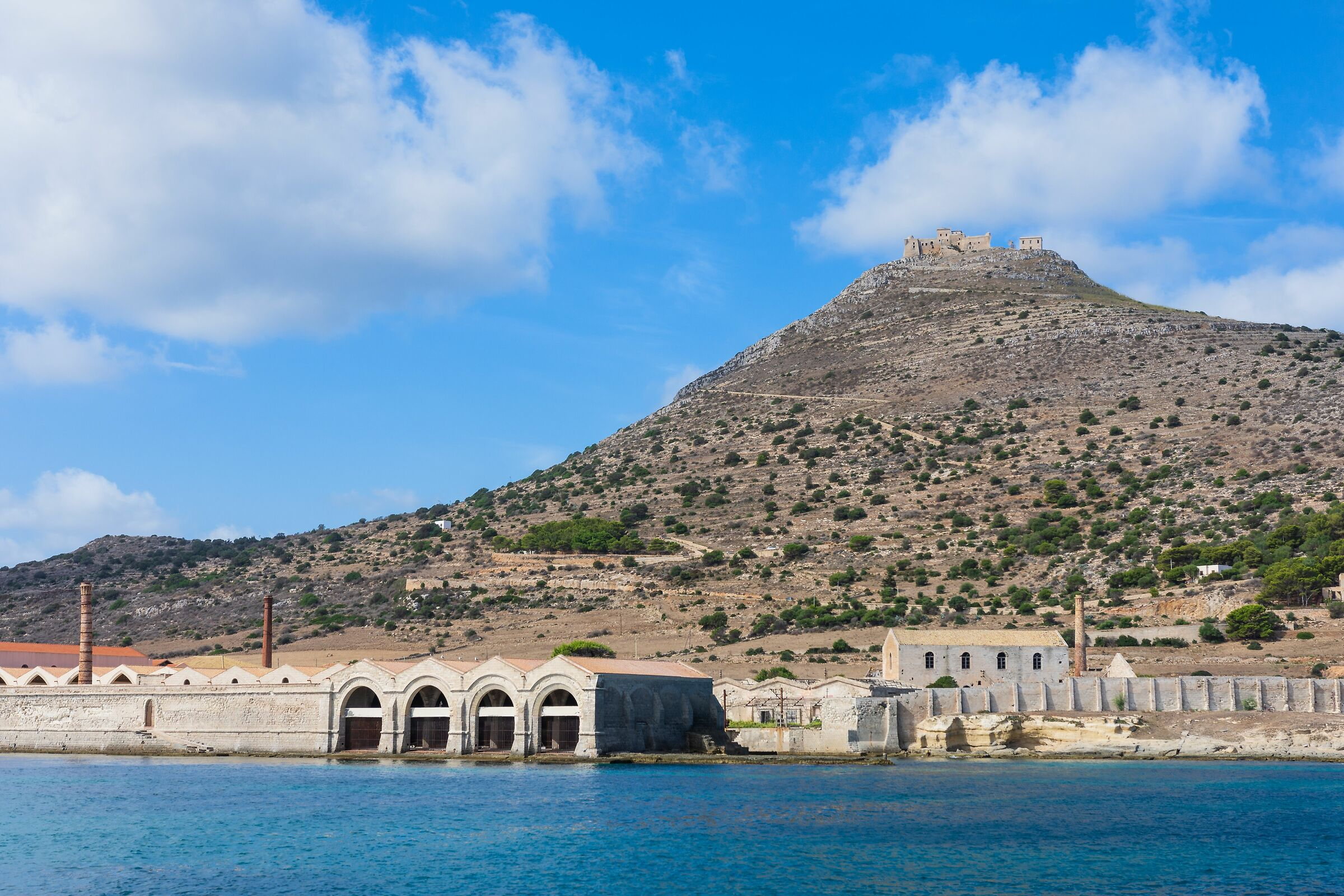 Favignana - View from the harbour...
