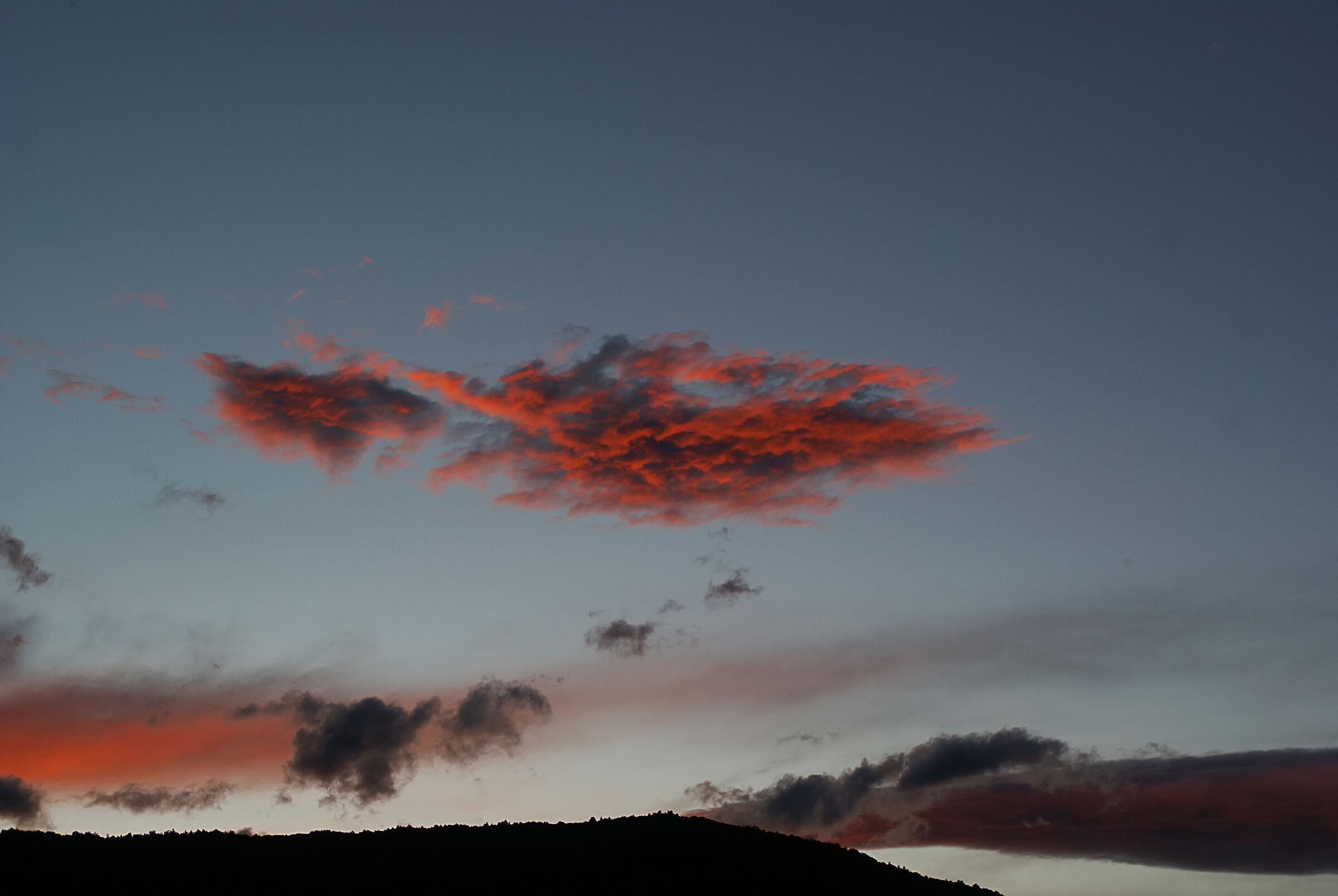 nuvole rosse...