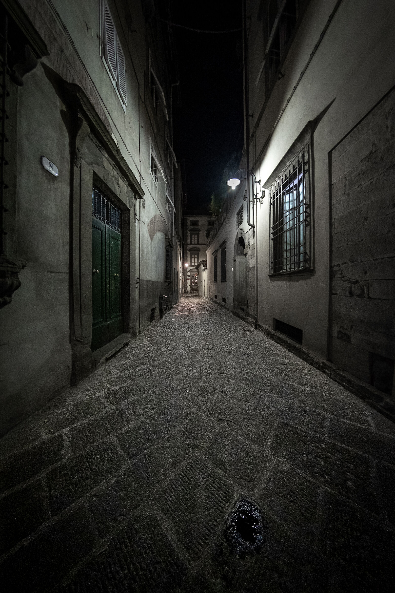 Streets of the Old Town, Lucca...