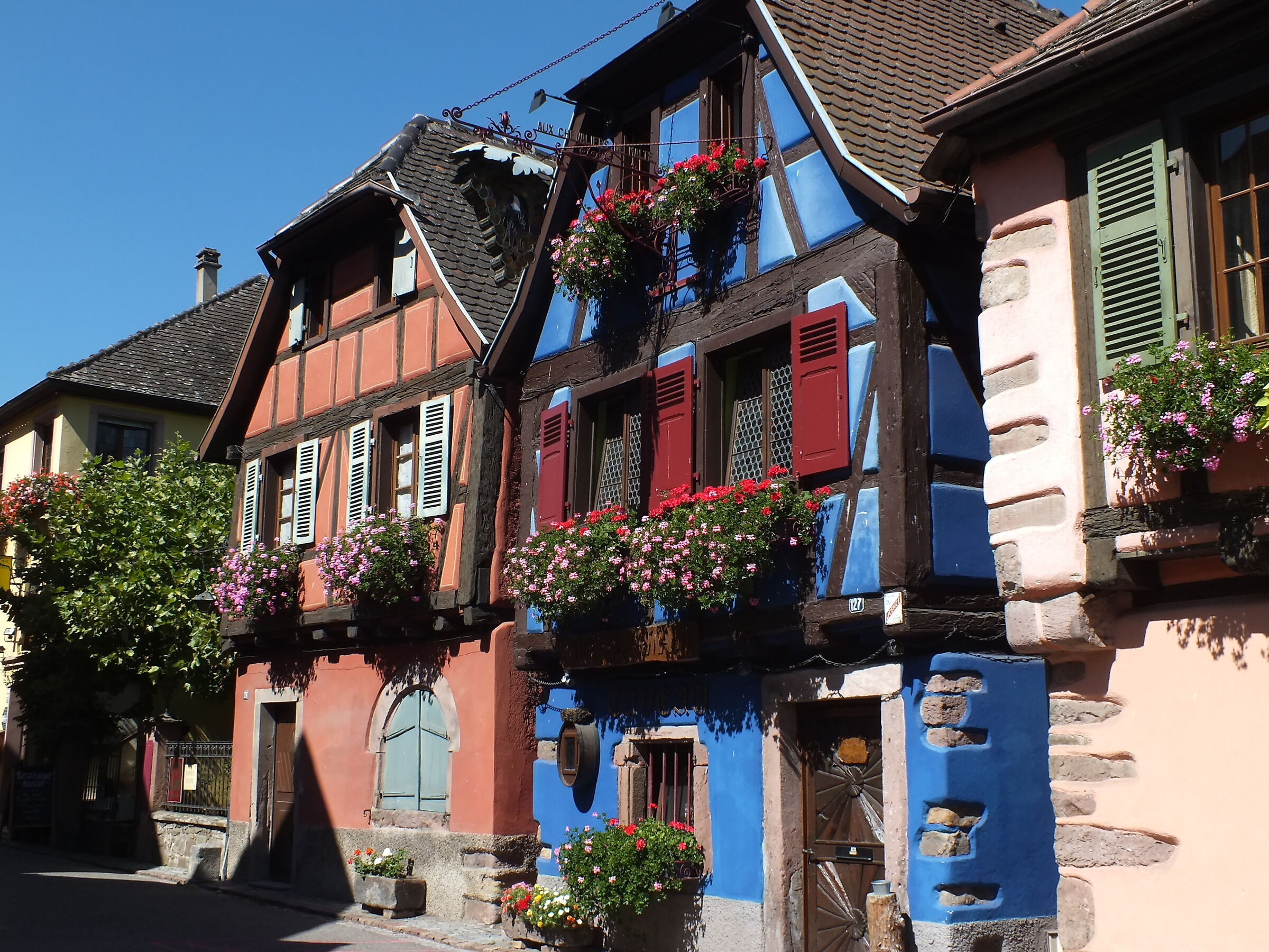 Alsace picturesque old houses...