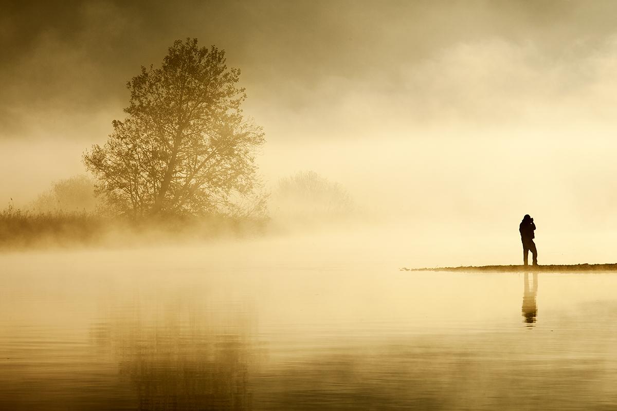 The landscape photographer...