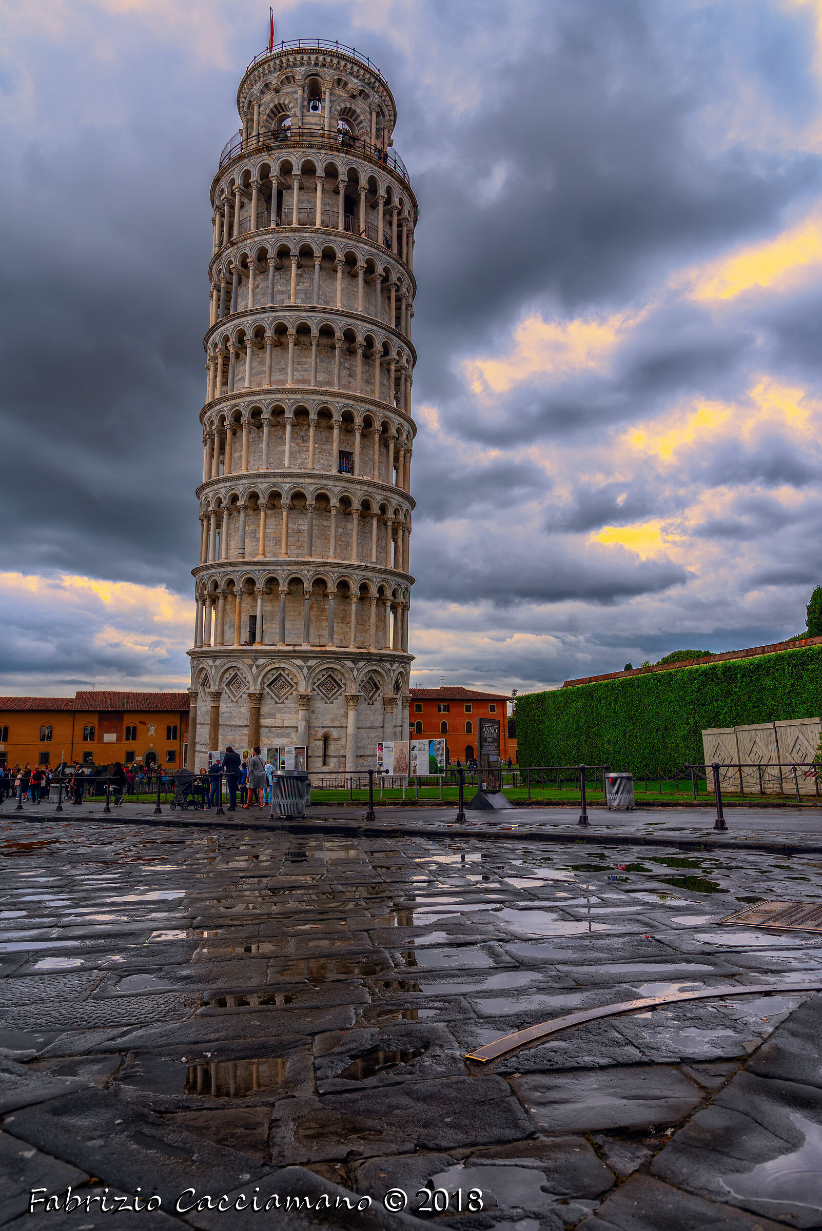 Temporale sulla torre...