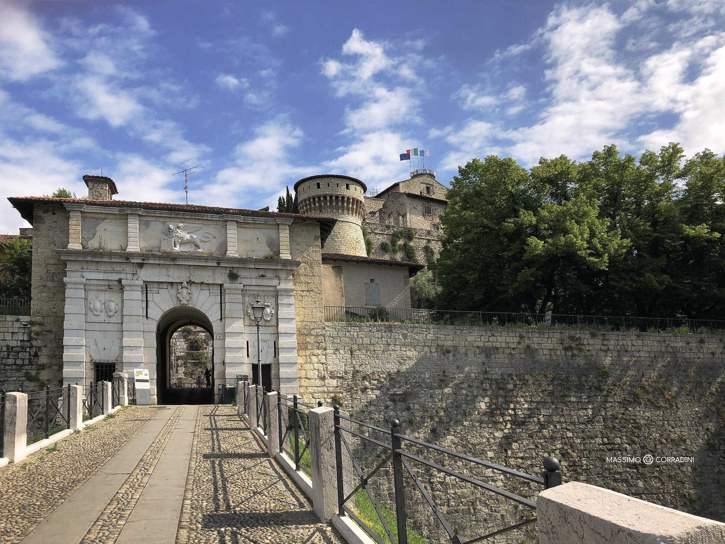 Brescia Castle Entrance...
