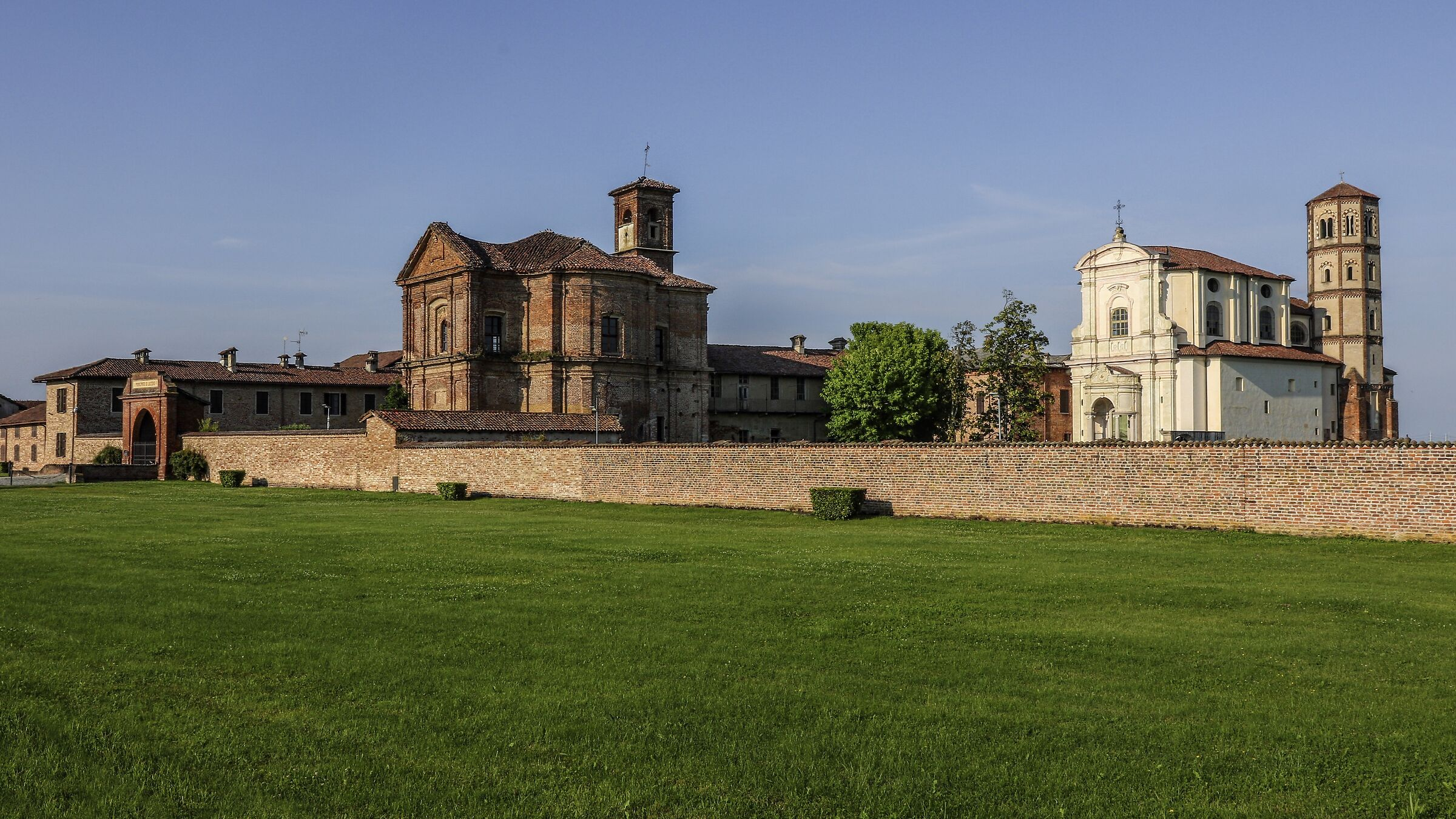 Trino. Abbey of St. Mary of Lucedio. ...