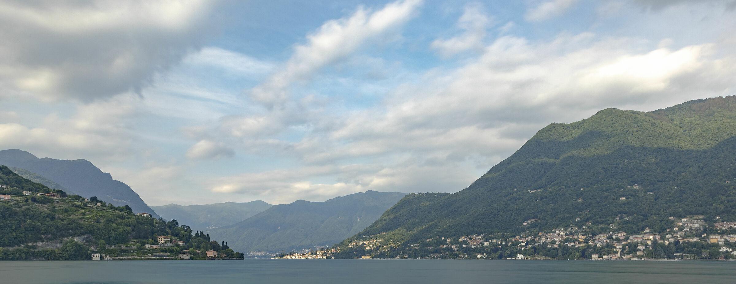 Lago di Como da Cernobbio...