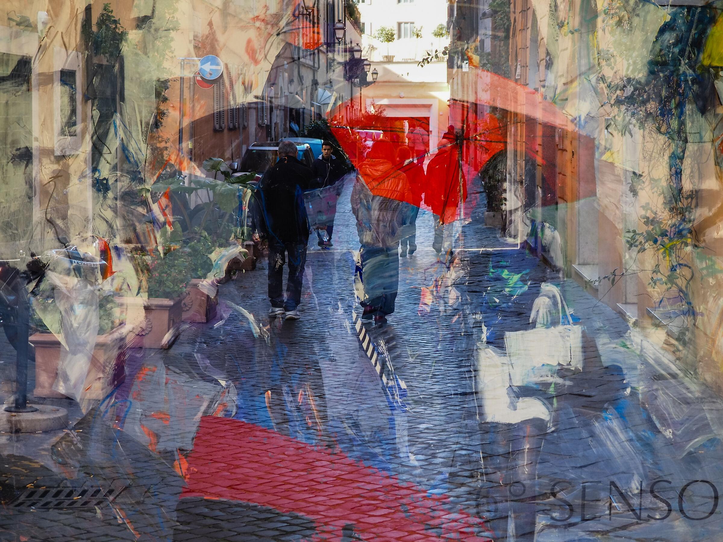 Walking in Margutta Street...