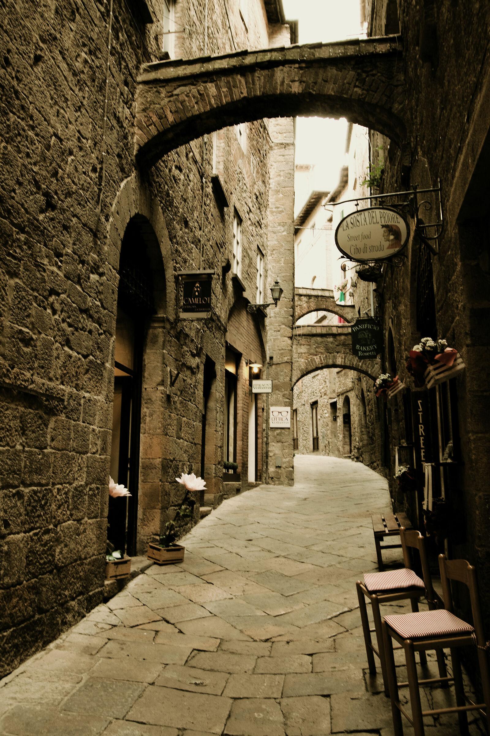 the three arches S. Gimignano...