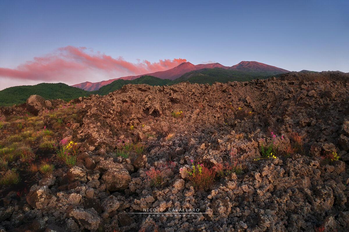 Etna sunrise...