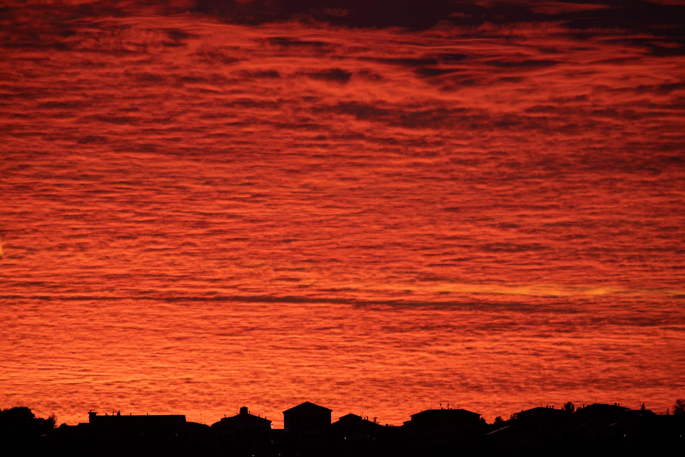 Sunset in Misano...