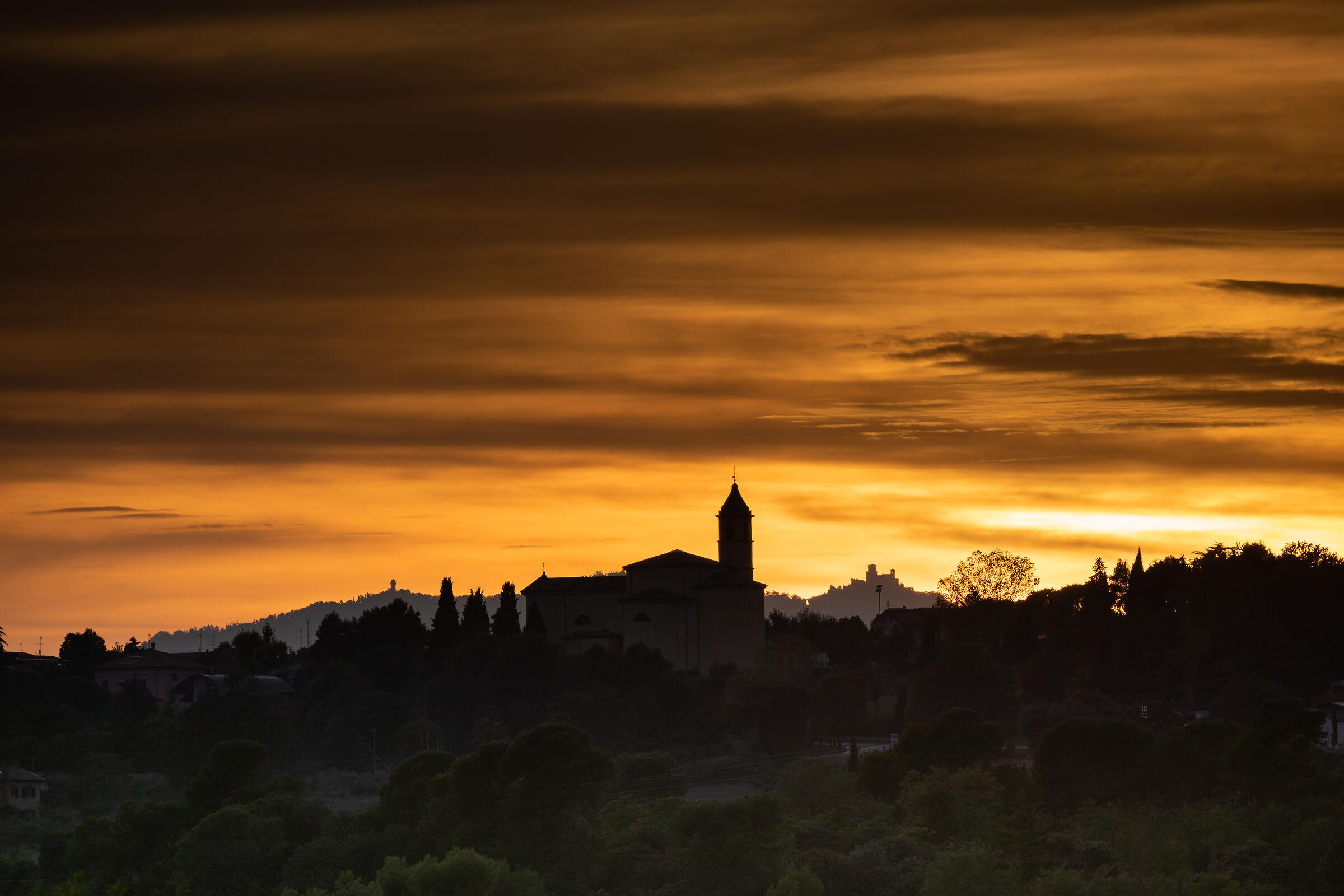 Sunset at Misano II...