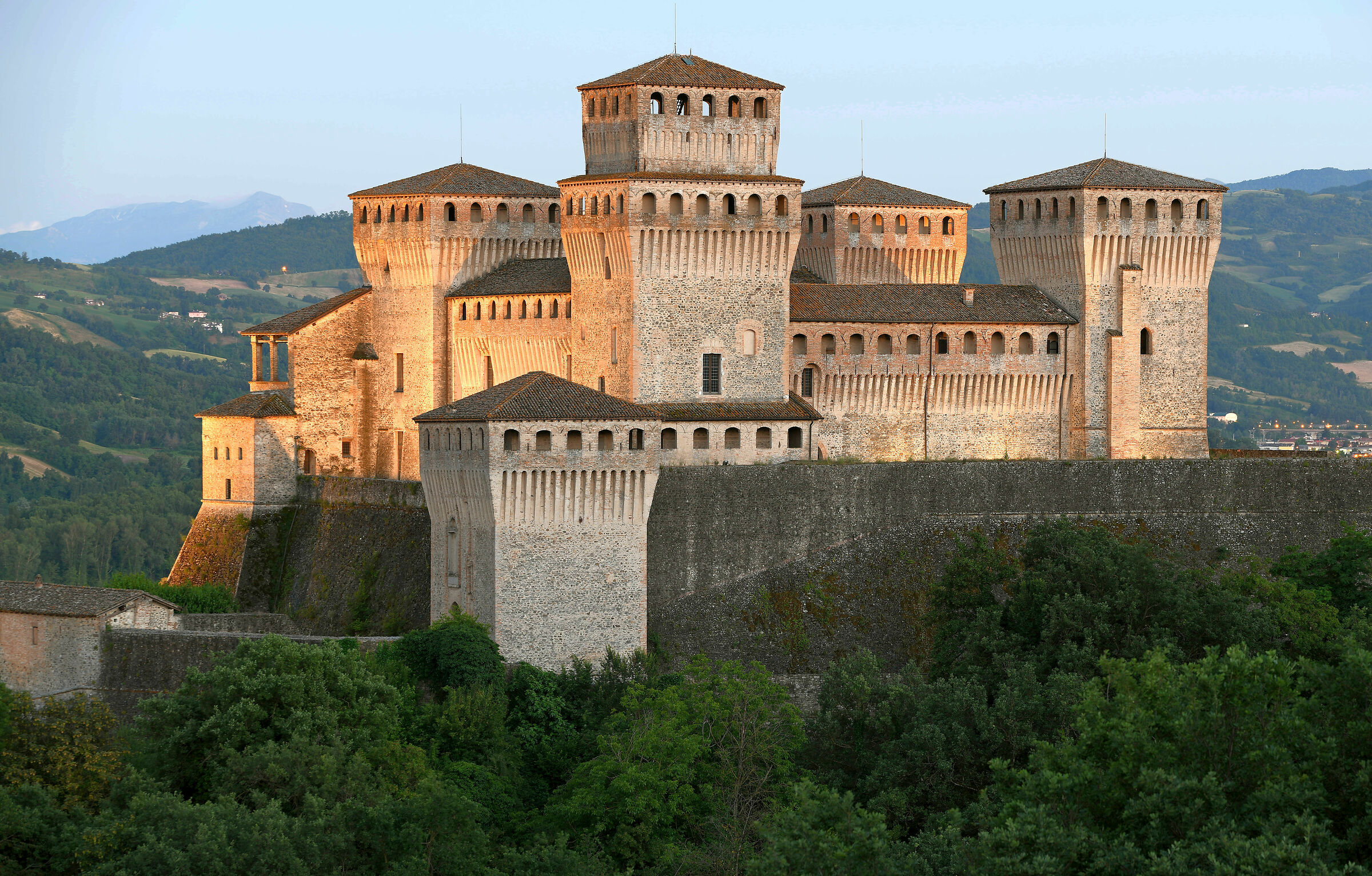 Castle of Torrechiara...