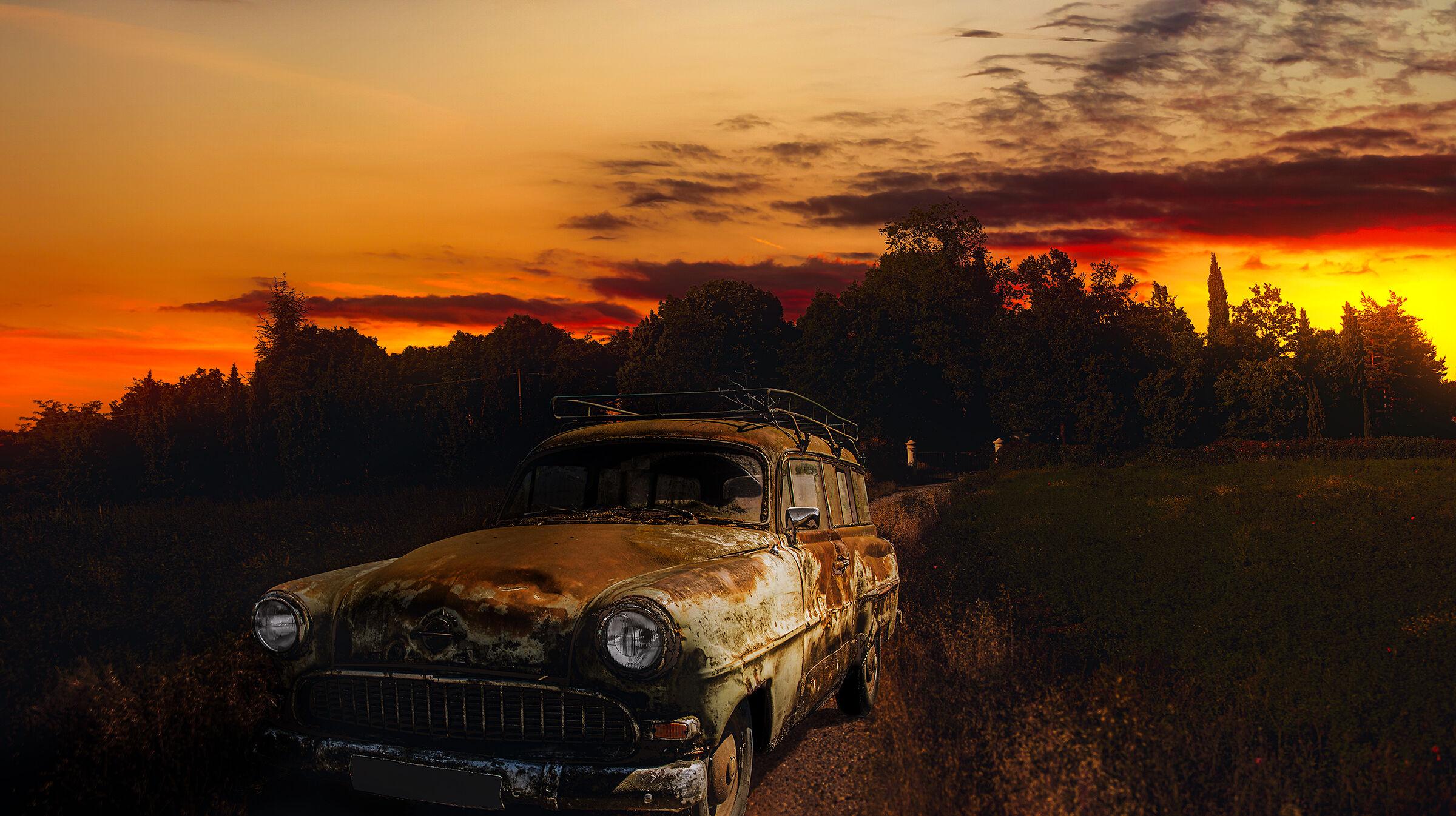 old car...