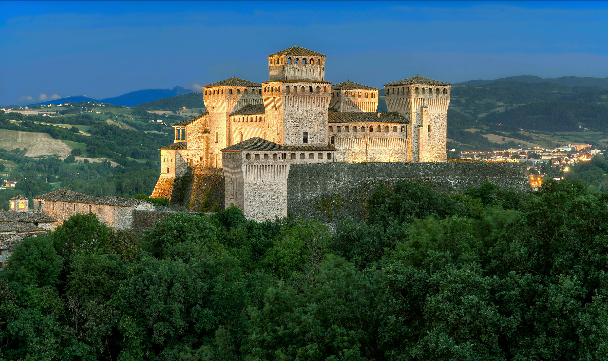 Castle of Clear Tower - Parma...