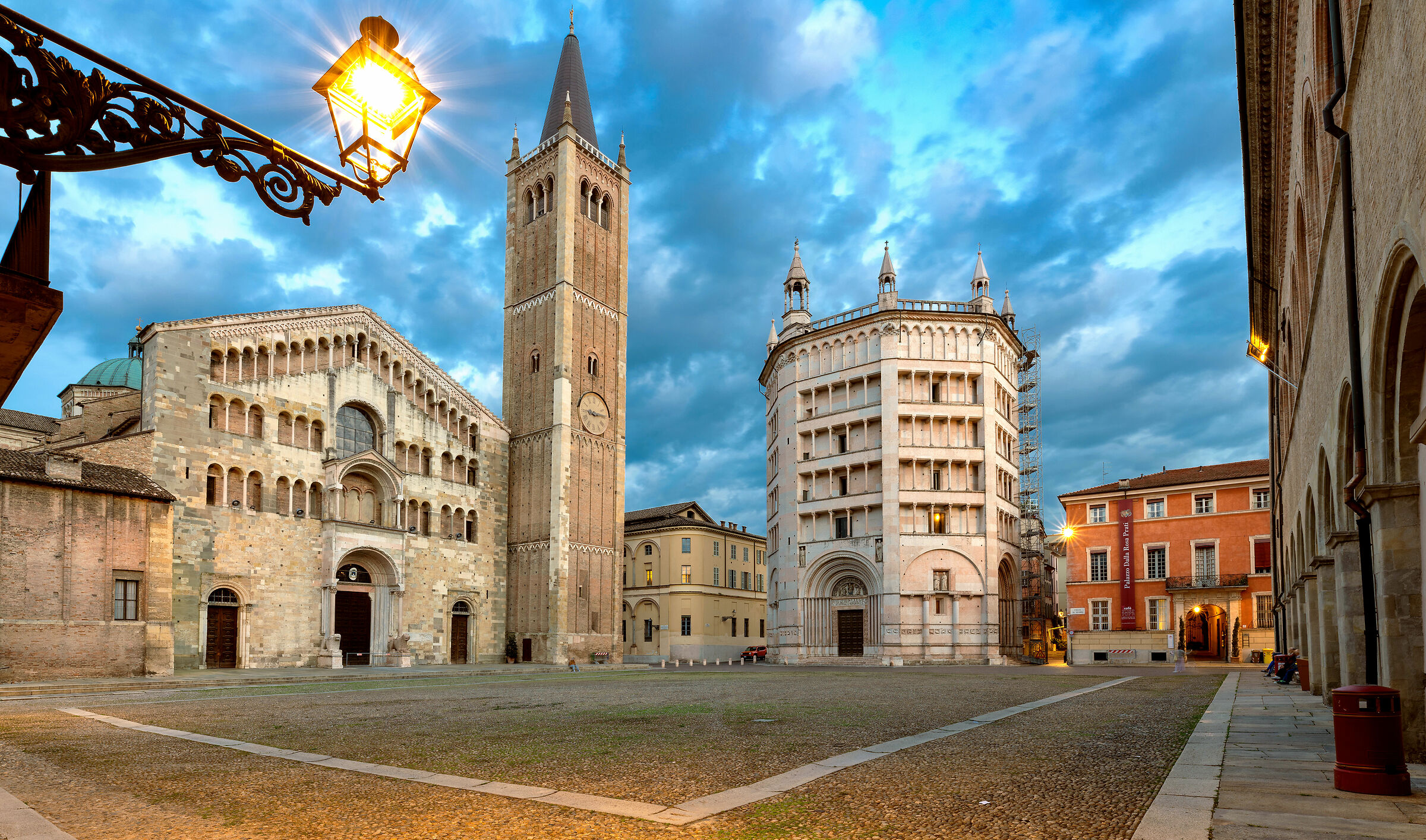 Cathedral & Baptistry of Parma...