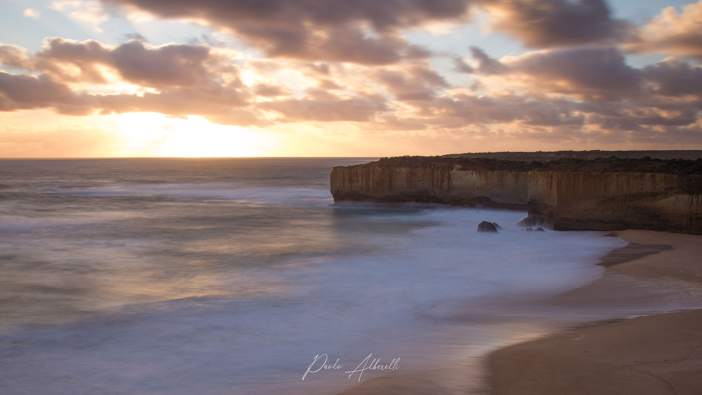 Sunset at Port Campbell National Park...